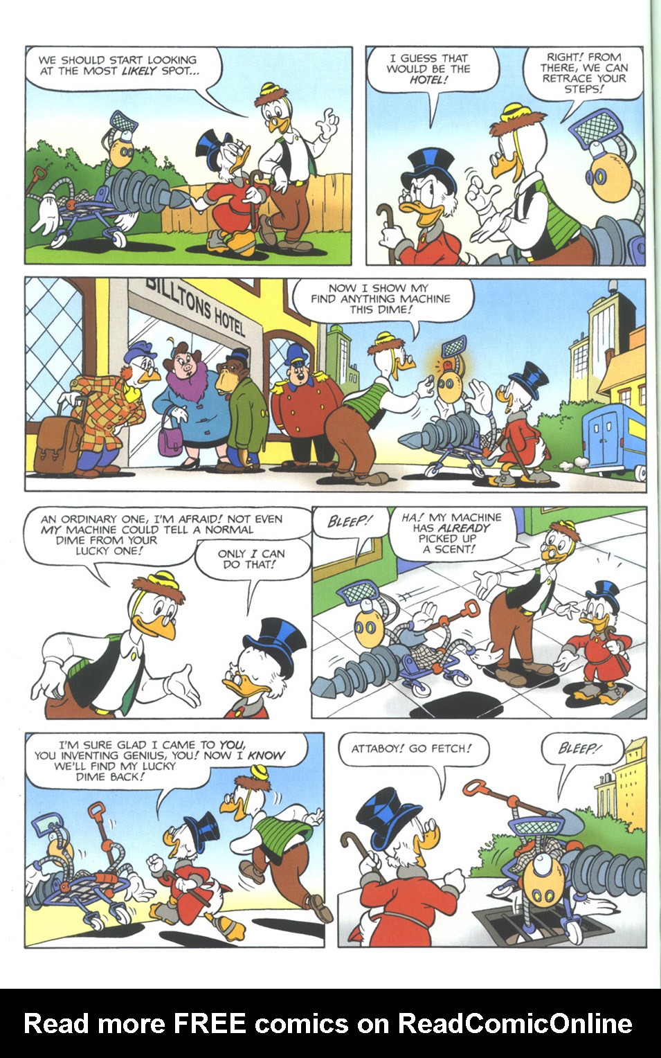 Read online Uncle Scrooge (1953) comic -  Issue #345 - 54