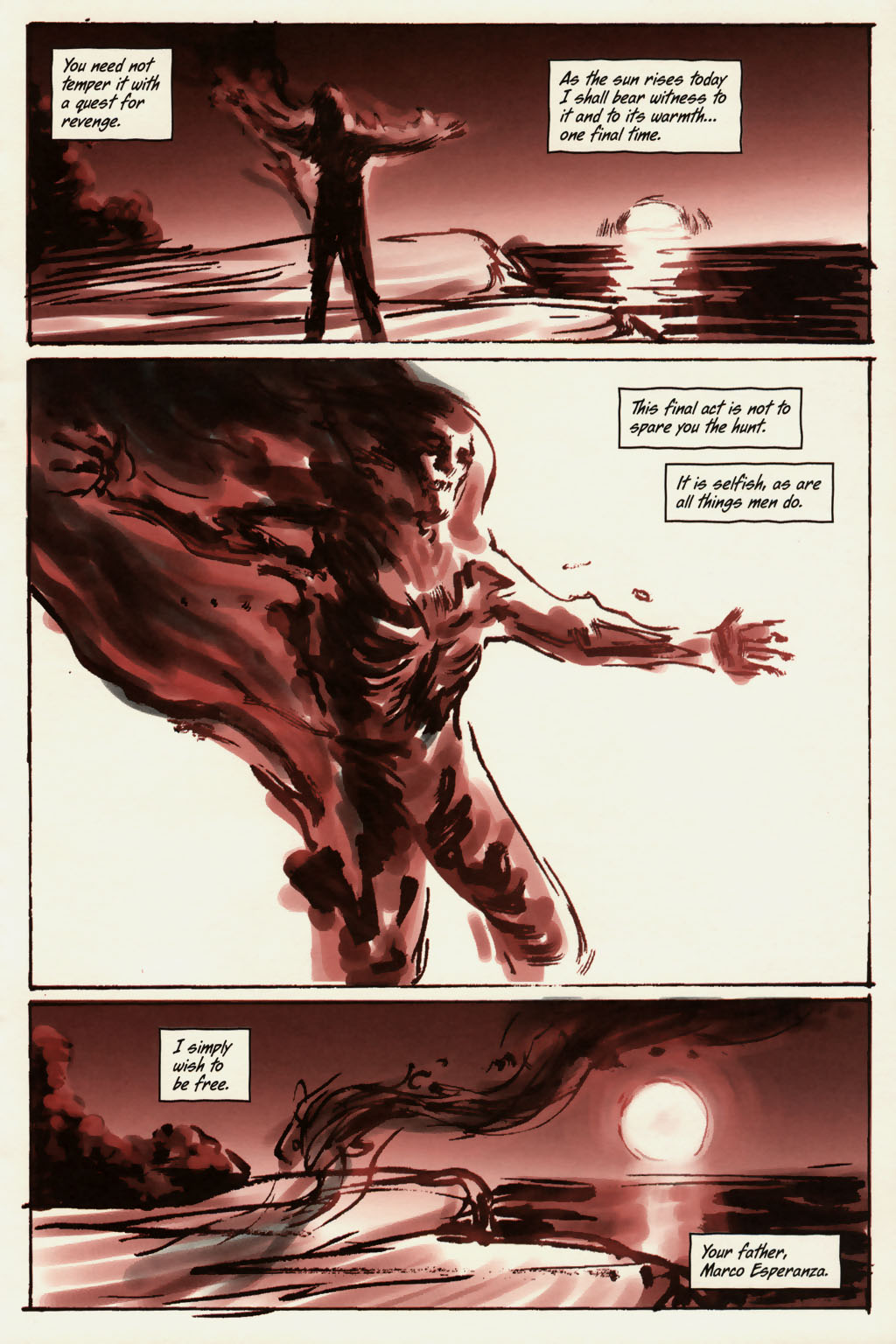 Read online Sea of Red comic -  Issue #13 - 22
