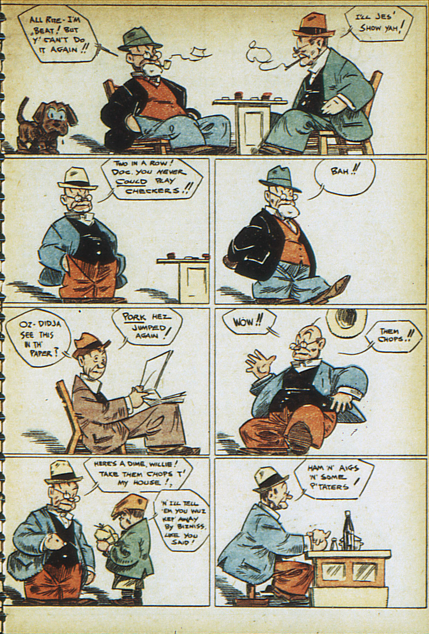 Read online Adventure Comics (1938) comic -  Issue #23 - 47