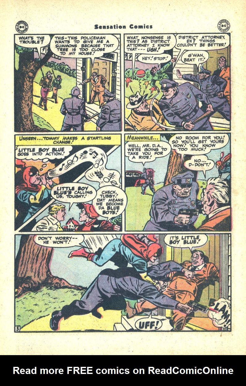 Read online Sensation (Mystery) Comics comic -  Issue #68 - 19