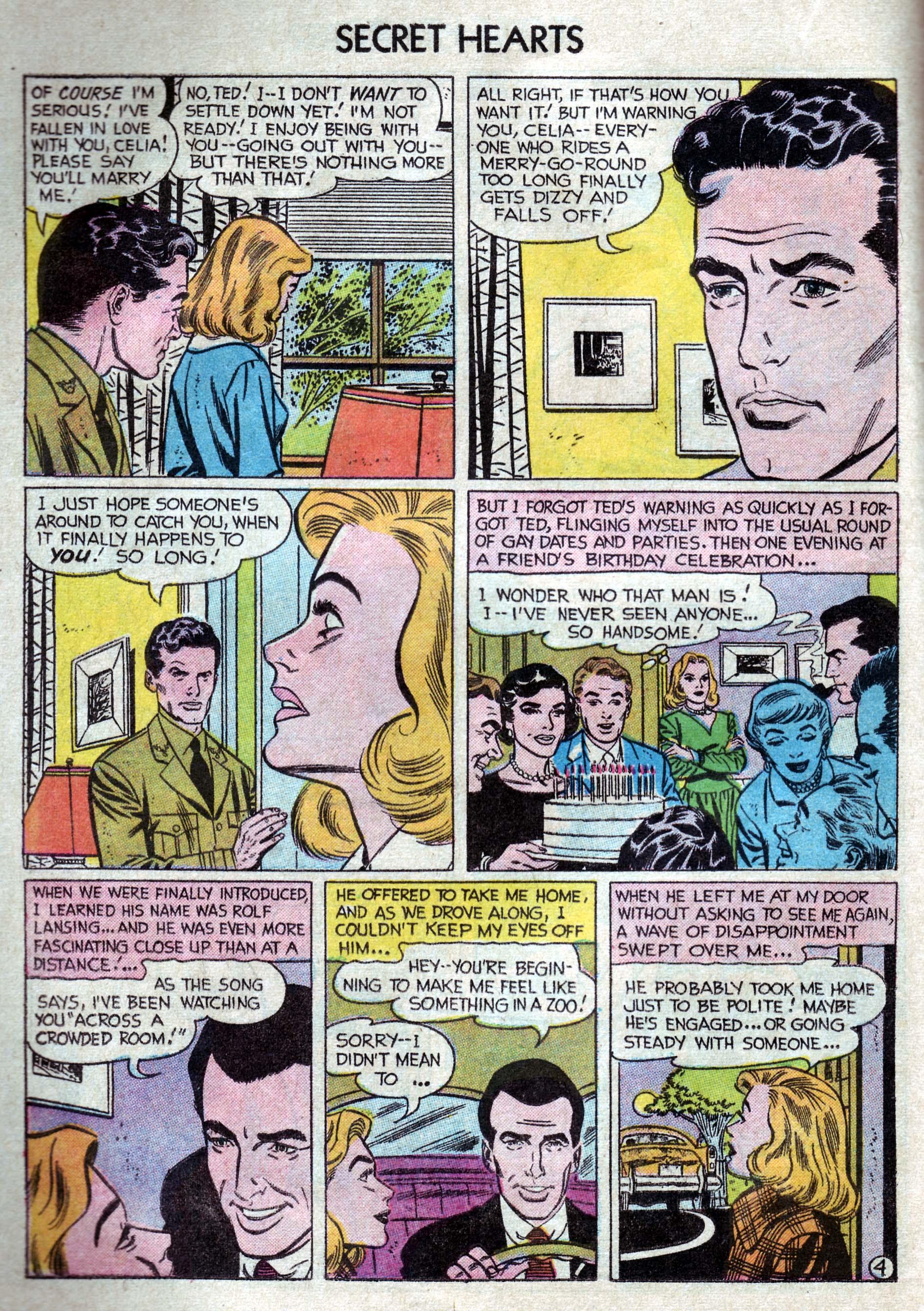 Read online Secret Hearts comic -  Issue #33 - 22