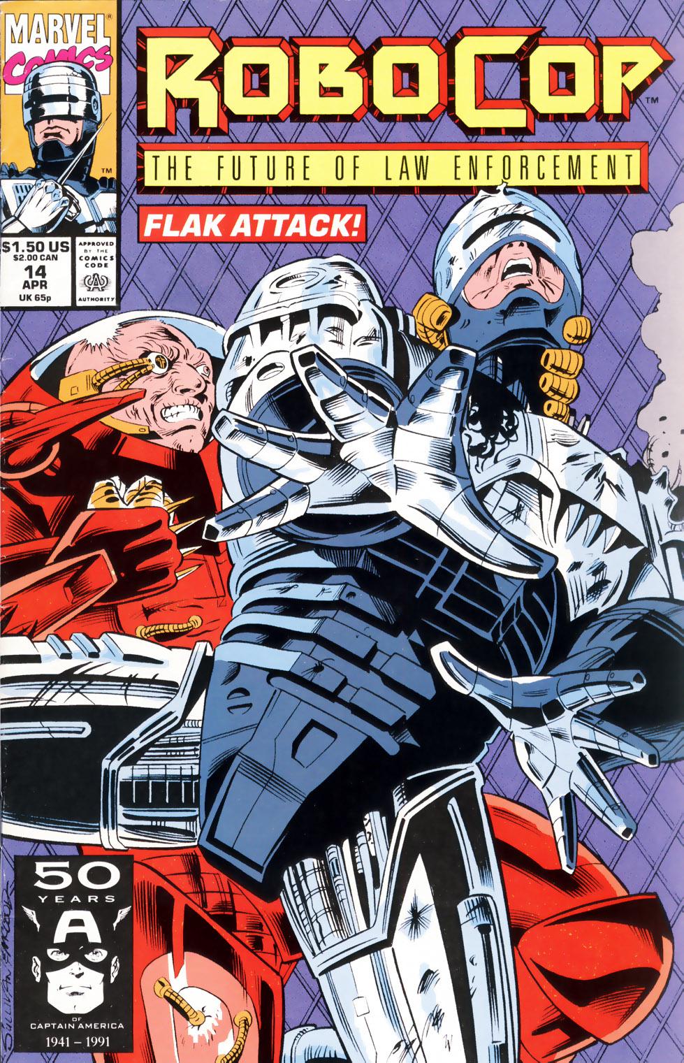 Read online Robocop (1990) comic -  Issue #14 - 1