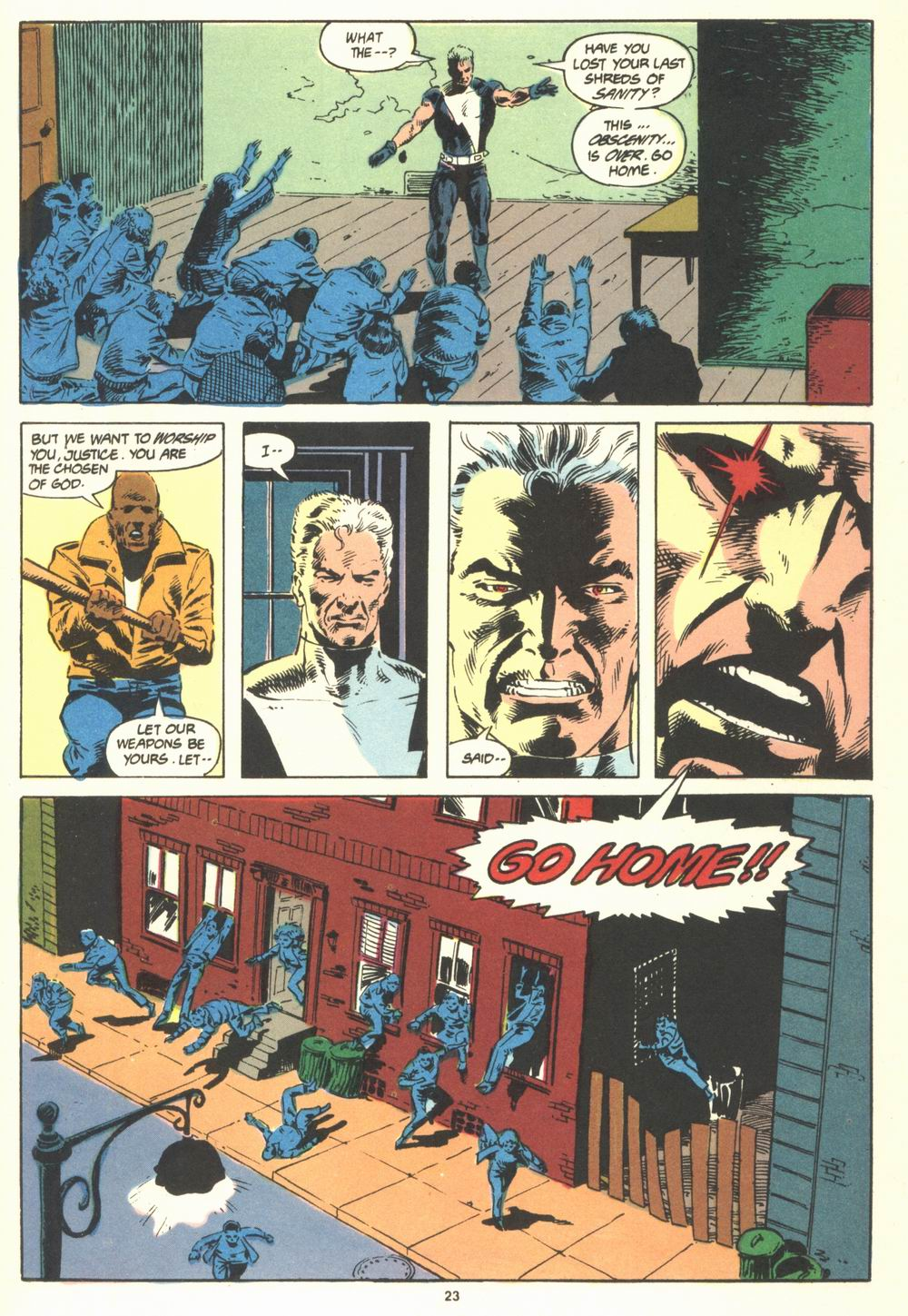 Read online Justice (1986) comic -  Issue #19 - 25