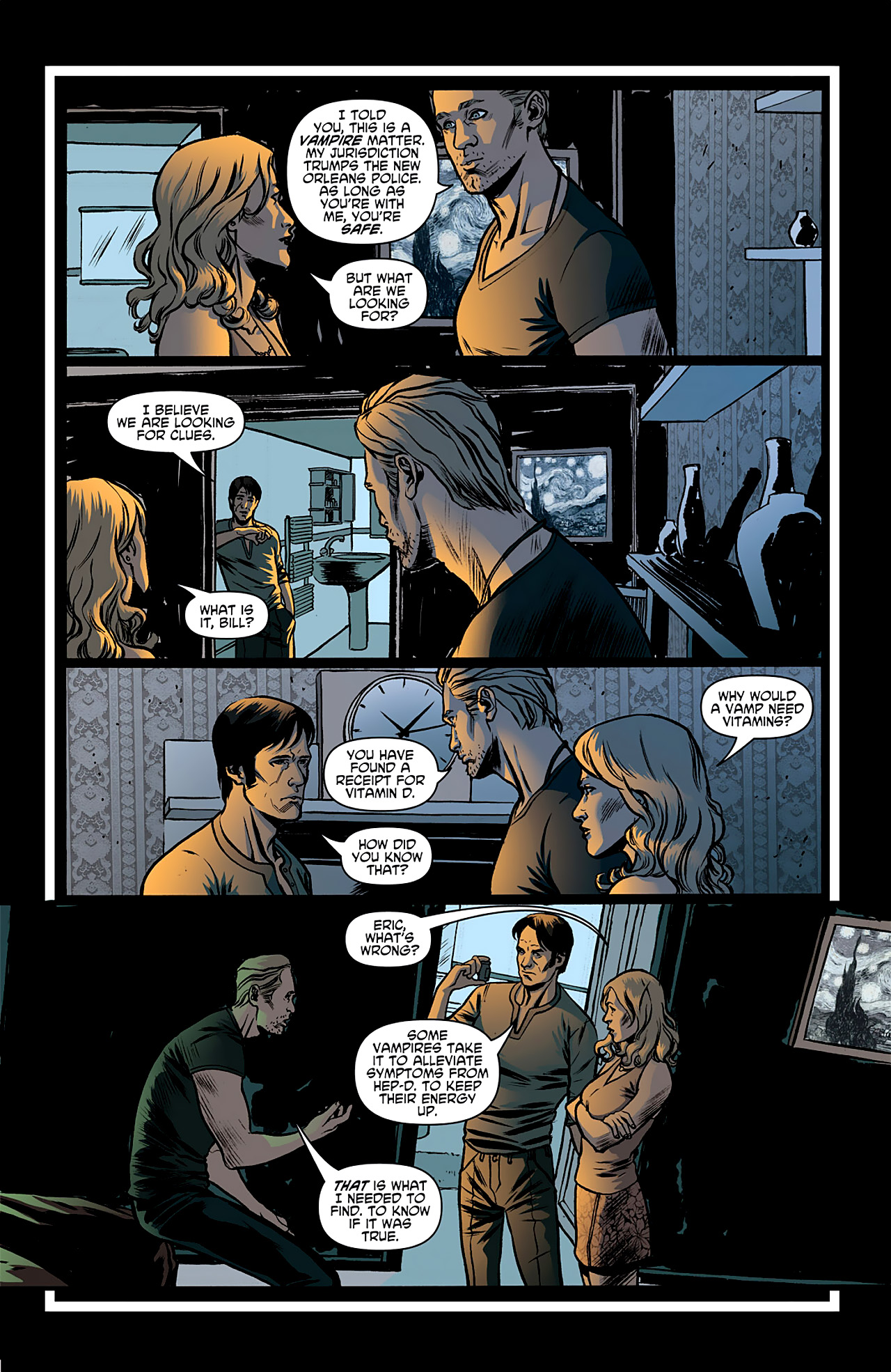 Read online True Blood: French Quarter comic -  Issue #1 - 20