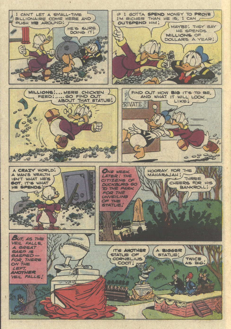 Read online Uncle Scrooge (1953) comic -  Issue #226 - 6
