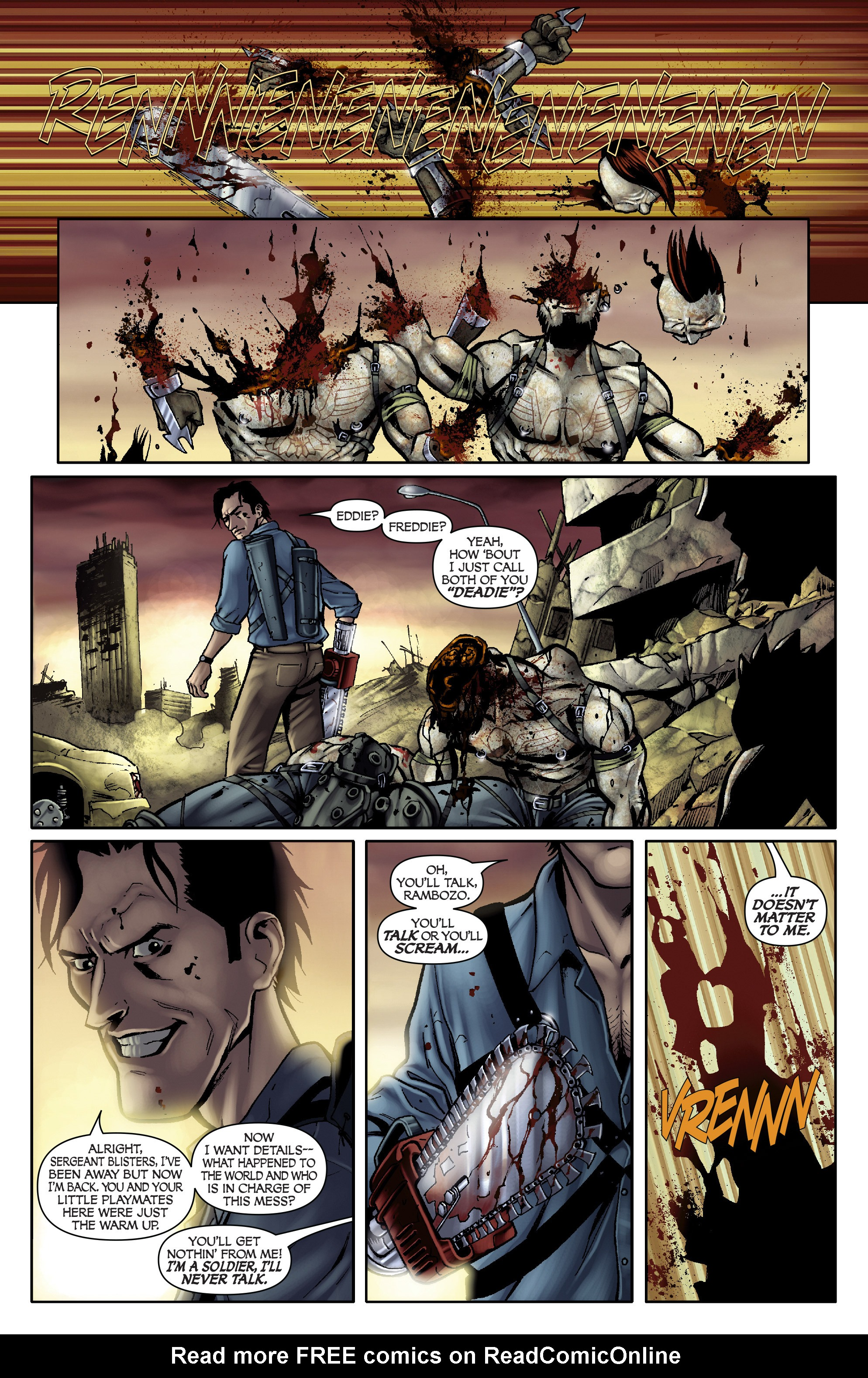 Read online Army of Darkness: From the Ashes comic -  Issue #Army of Darkness: From the Ashes TPB - 19