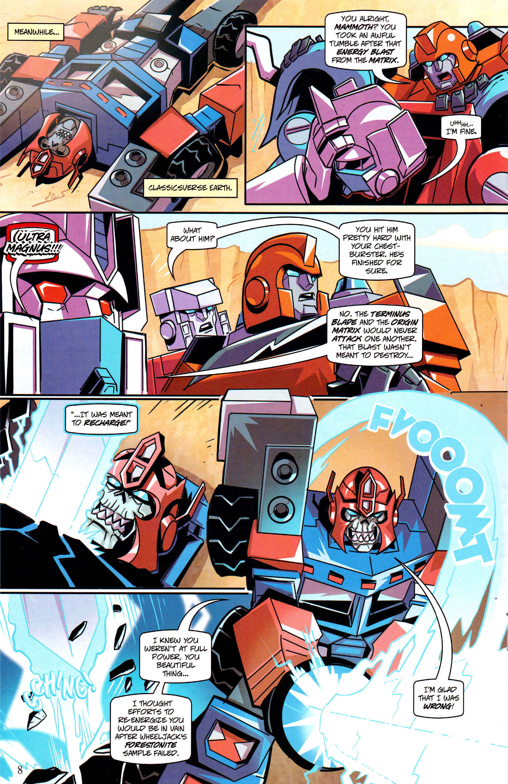 Read online Transformers: Collectors' Club comic -  Issue #64 - 8