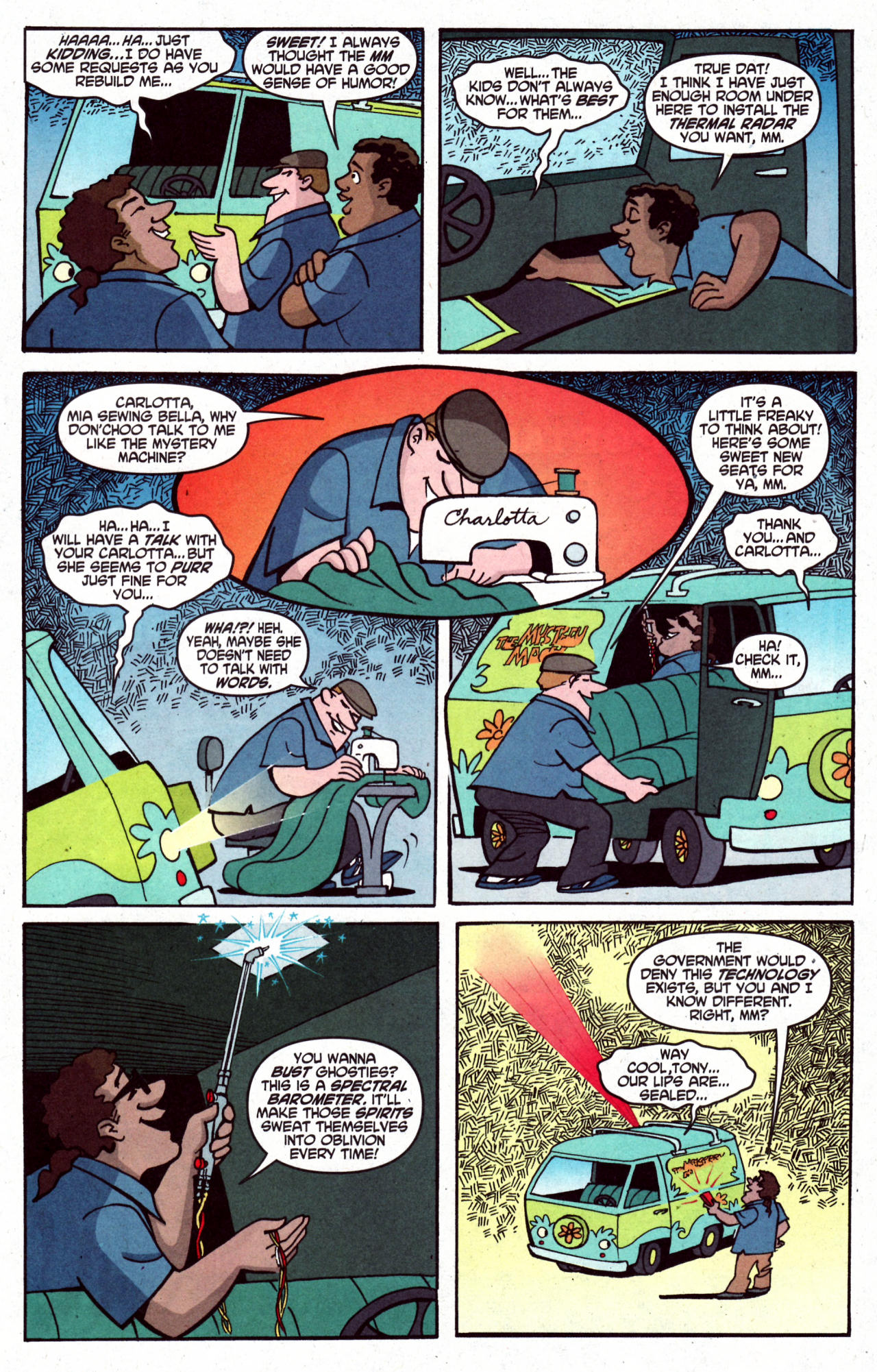 Read online Scooby-Doo (1997) comic -  Issue #125 - 6