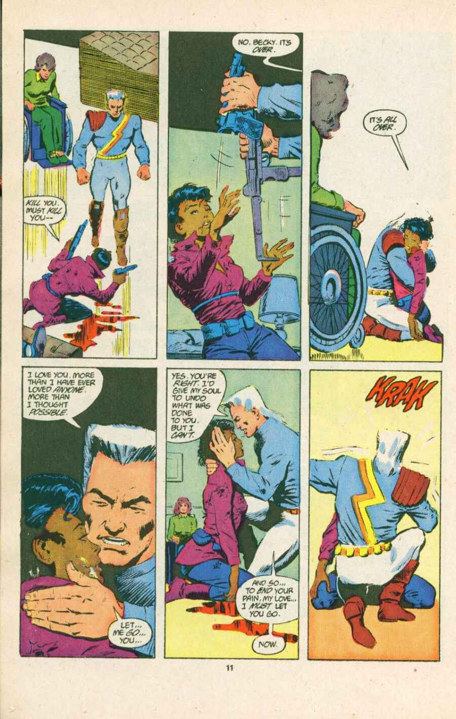 Read online Justice (1986) comic -  Issue #15 - 12