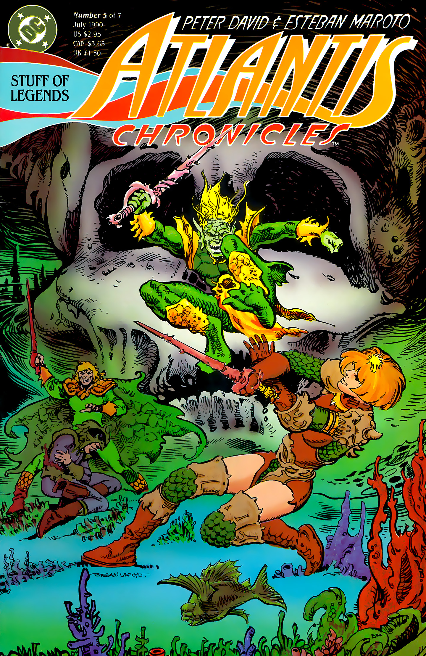 Read online Atlantis Chronicles comic -  Issue #5 - 1
