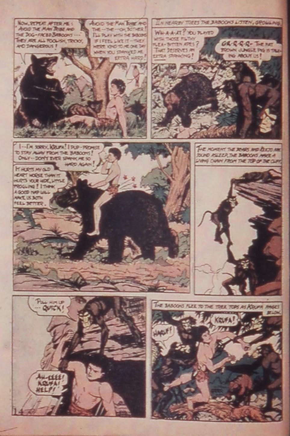 Read online Animal Comics comic -  Issue #6 - 16