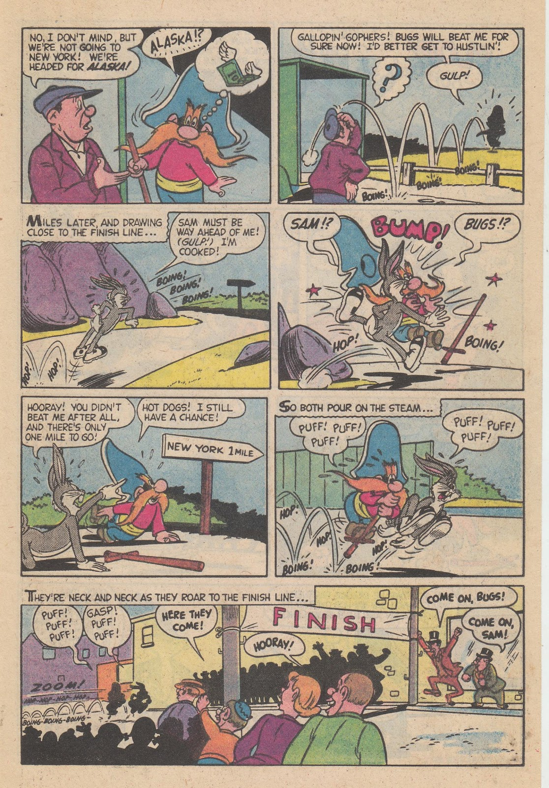 Yosemite Sam and Bugs Bunny issue 80 - Page 33