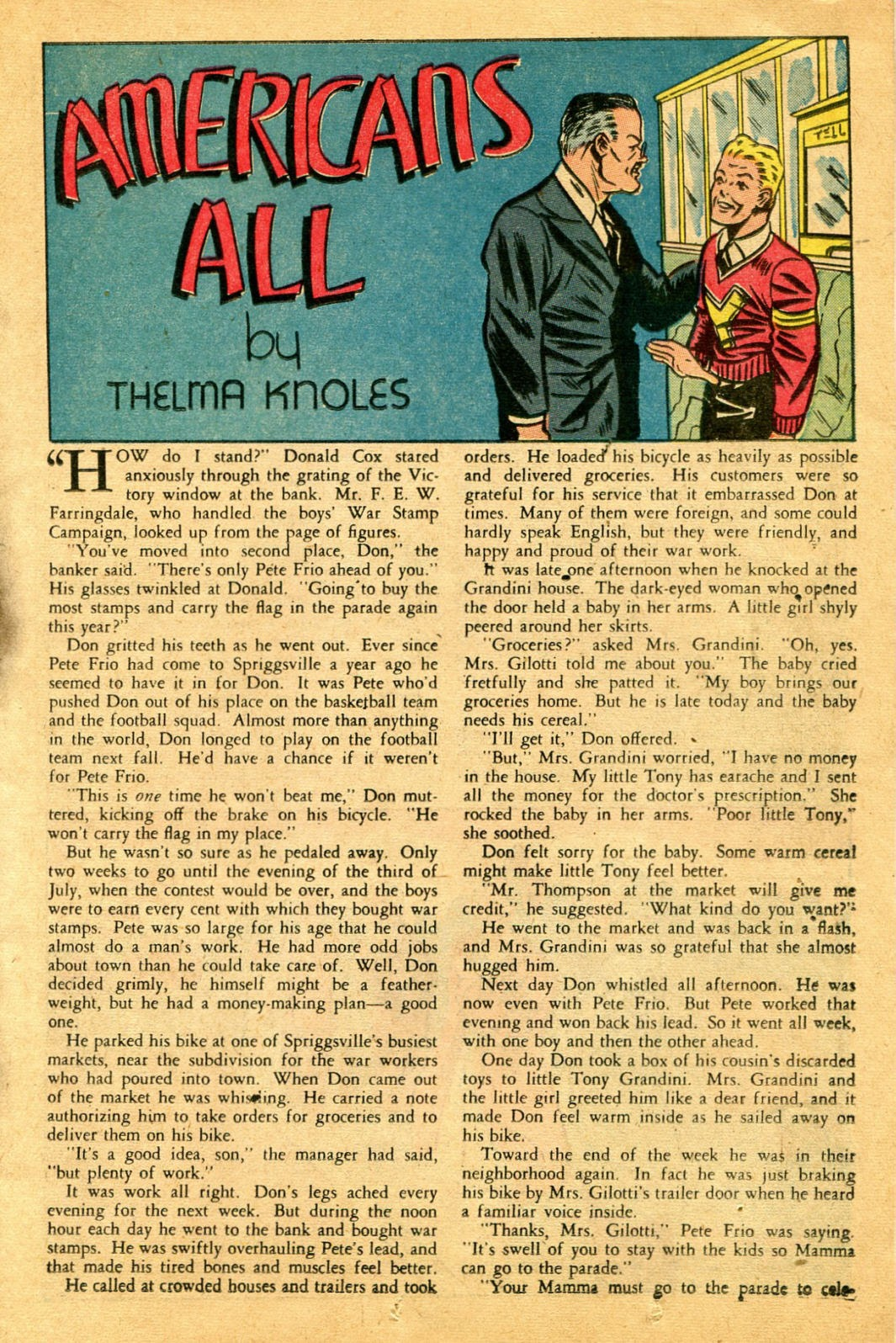 Read online Famous Funnies comic -  Issue #122 - 19