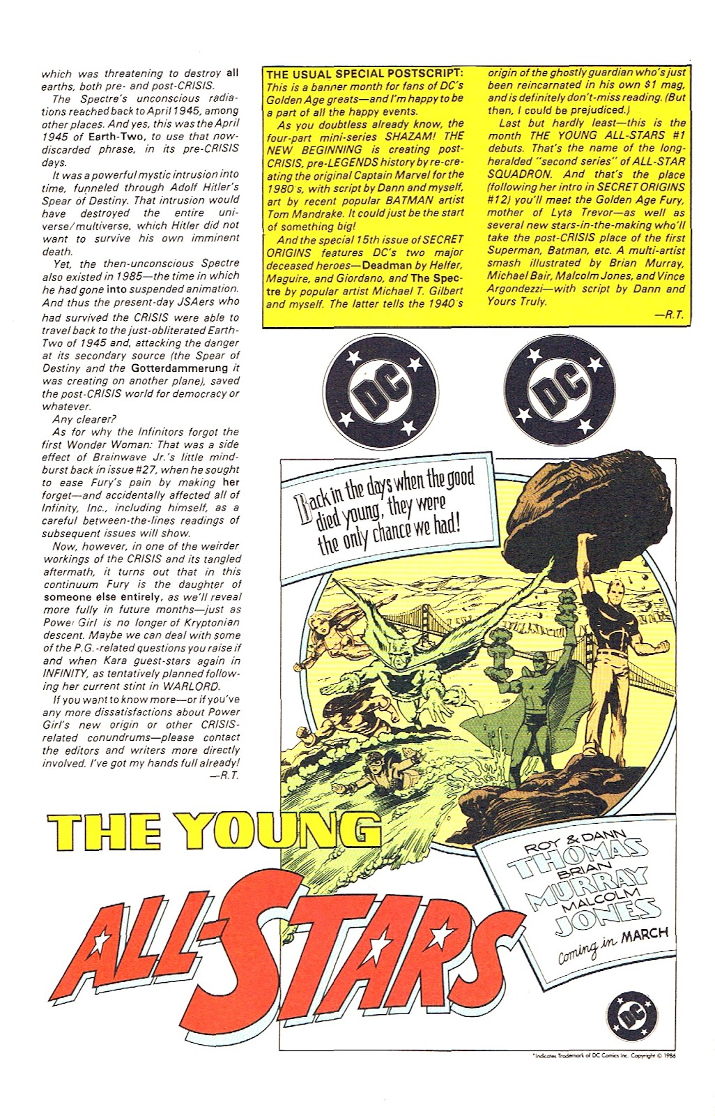 Infinity Inc. (1984) issue 39 - Page 32