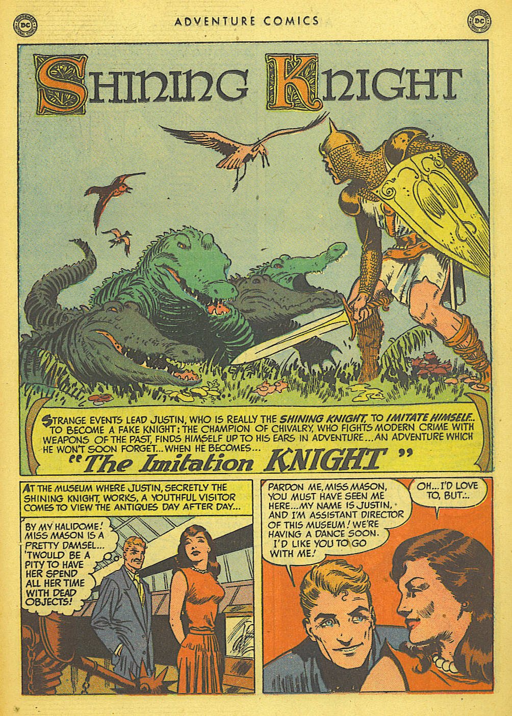 Read online Adventure Comics (1938) comic -  Issue #155 - 27