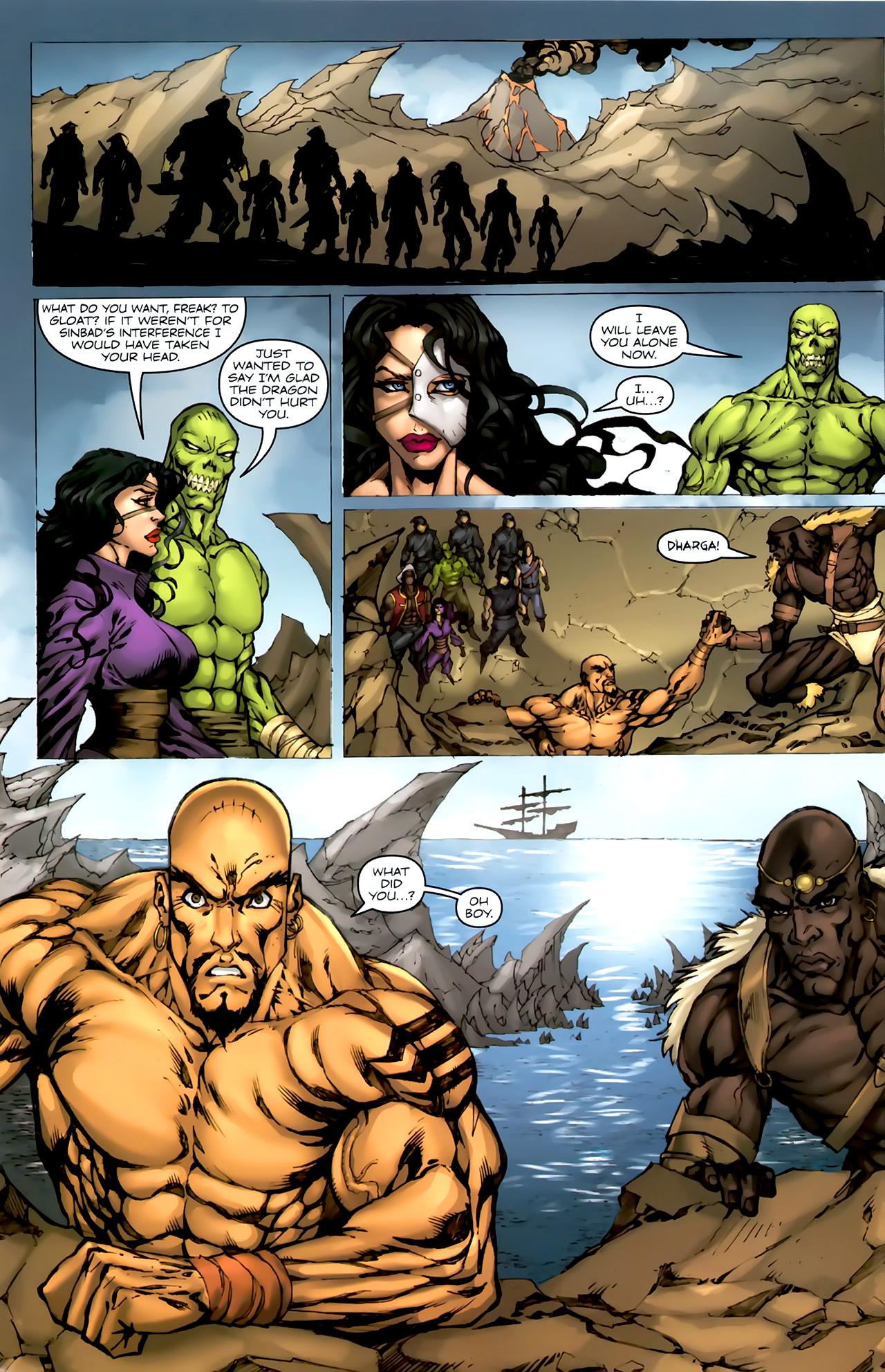 Read online 1001 Arabian Nights: The Adventures of Sinbad comic -  Issue #4 - 7