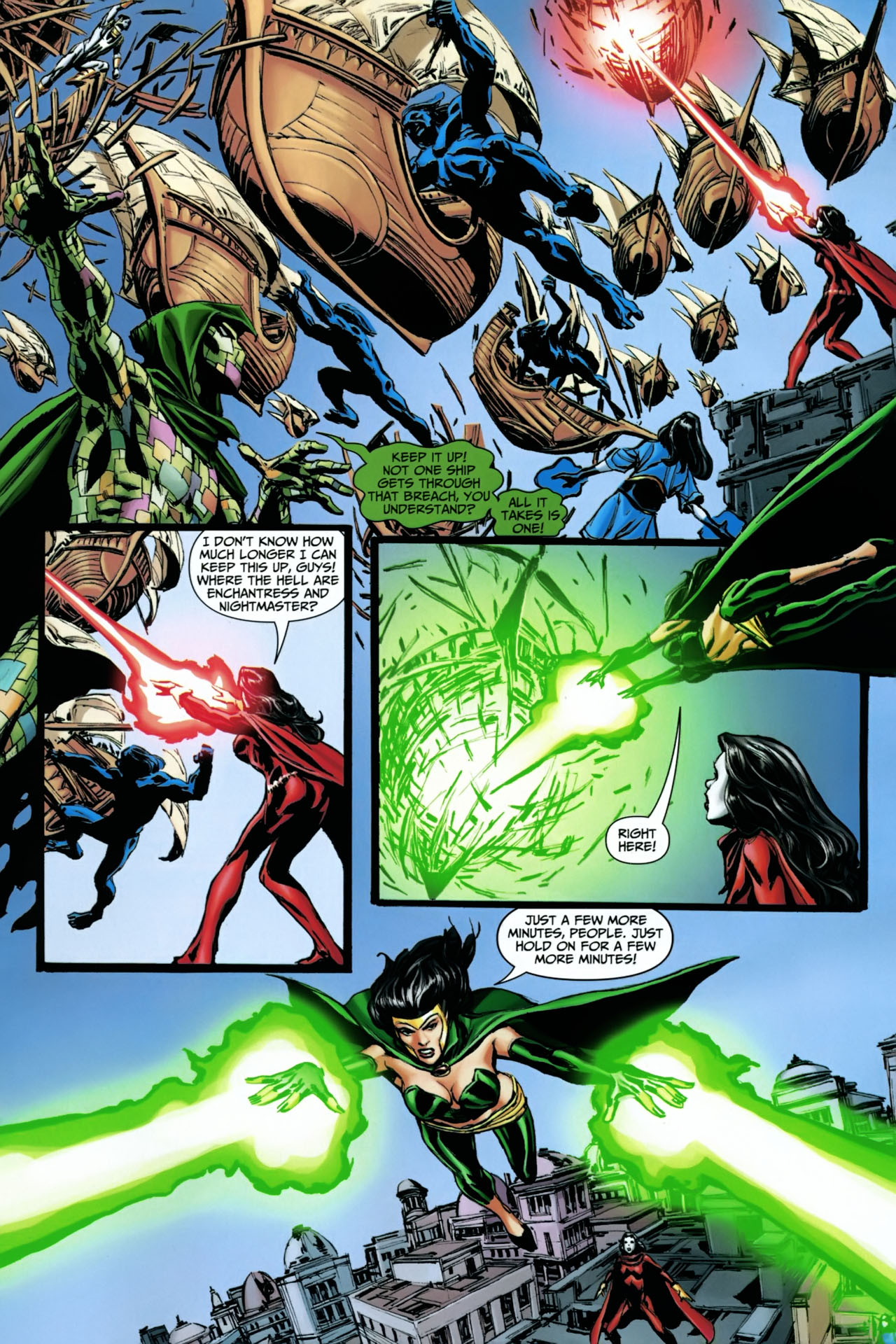 Read online Shadowpact comic -  Issue #22 - 14