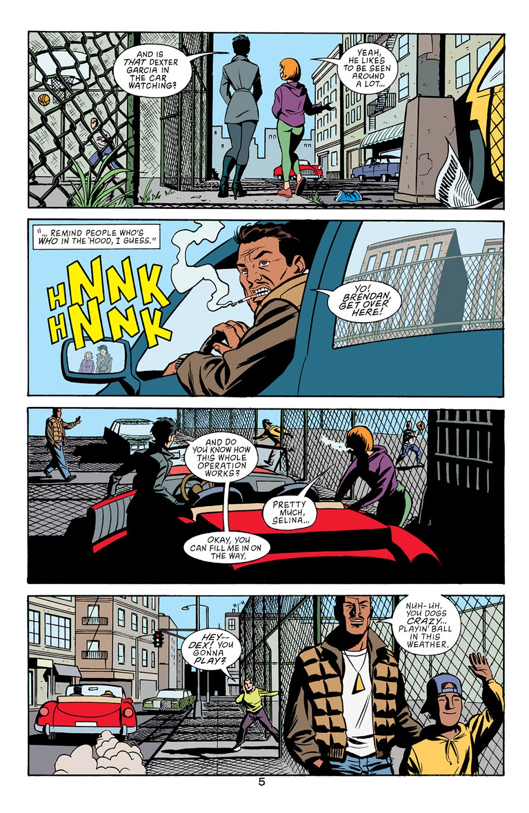 Catwoman (2002) Issue #5 #5 - English 6