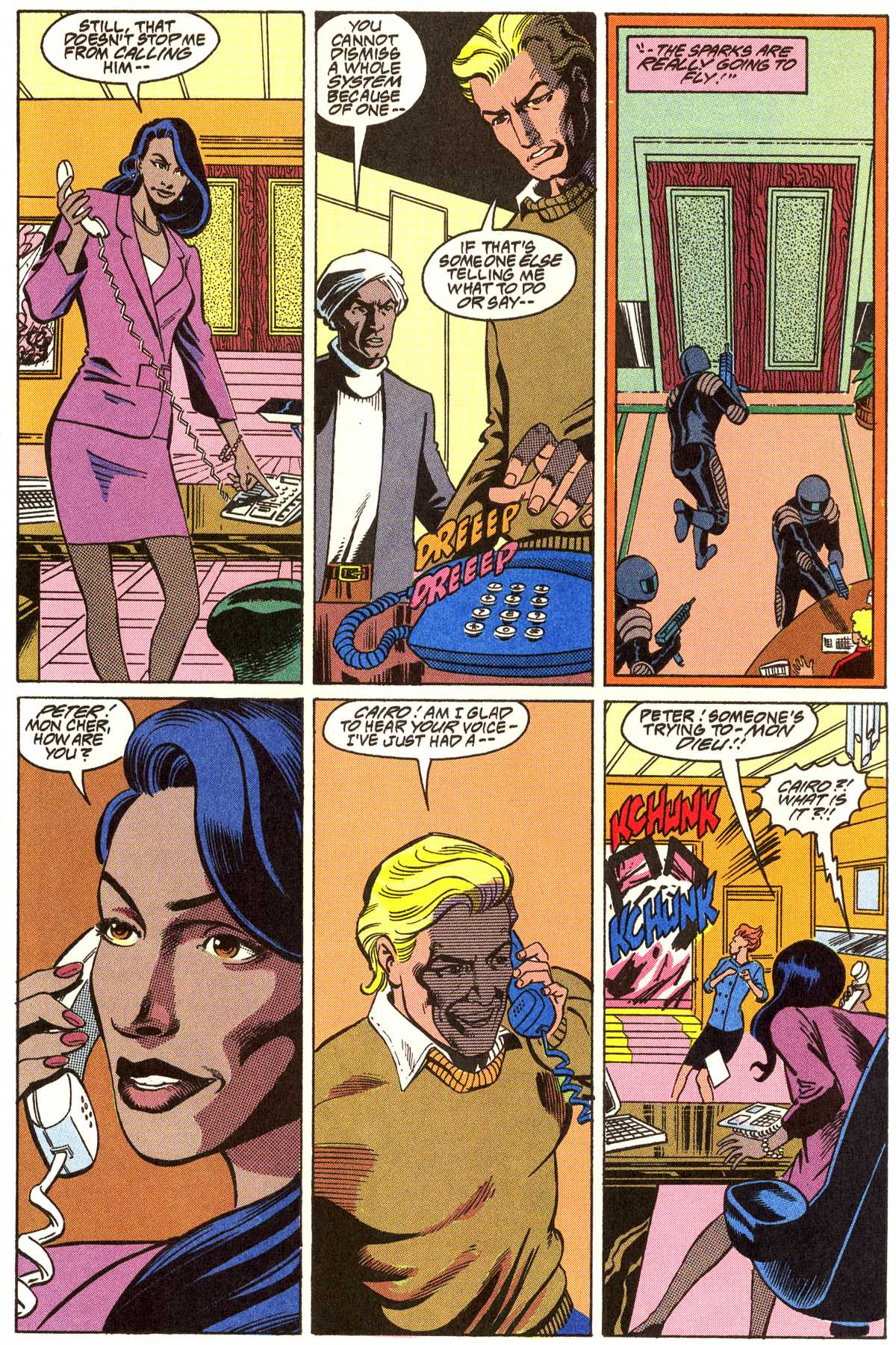 Read online Peter Cannon--Thunderbolt (1992) comic -  Issue #7 - 22
