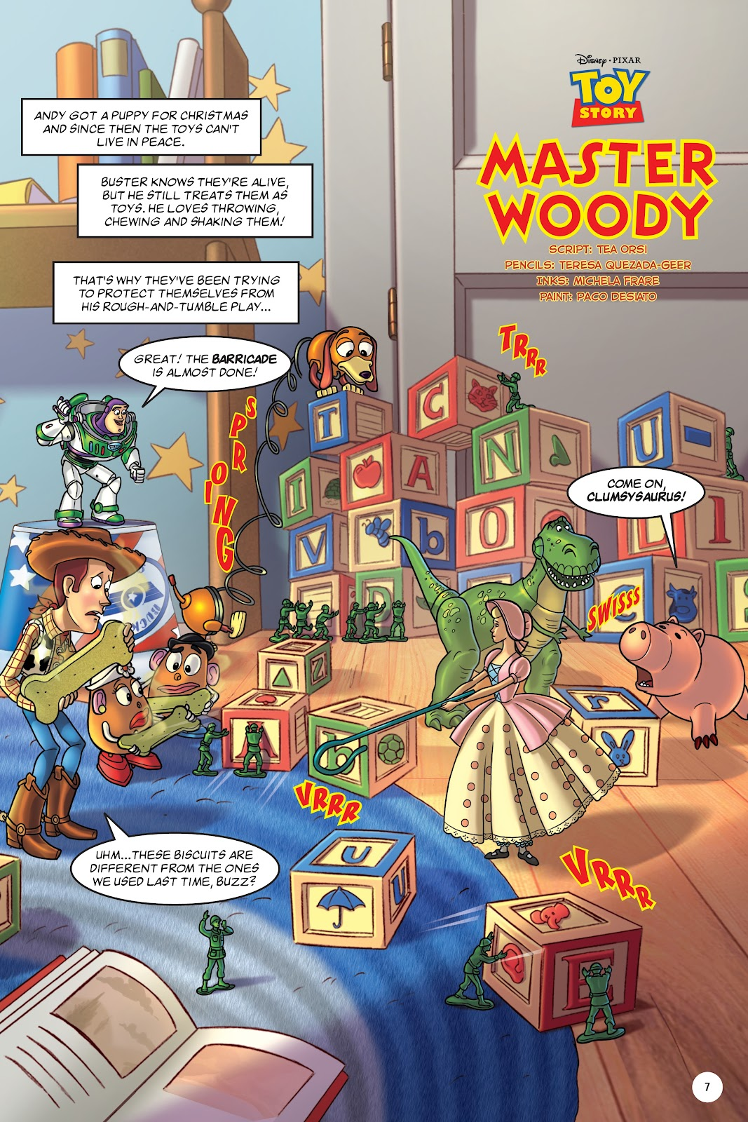 Read online DISNEY·PIXAR Toy Story Adventures comic -  Issue # TPB 1 (Part 1) - 7