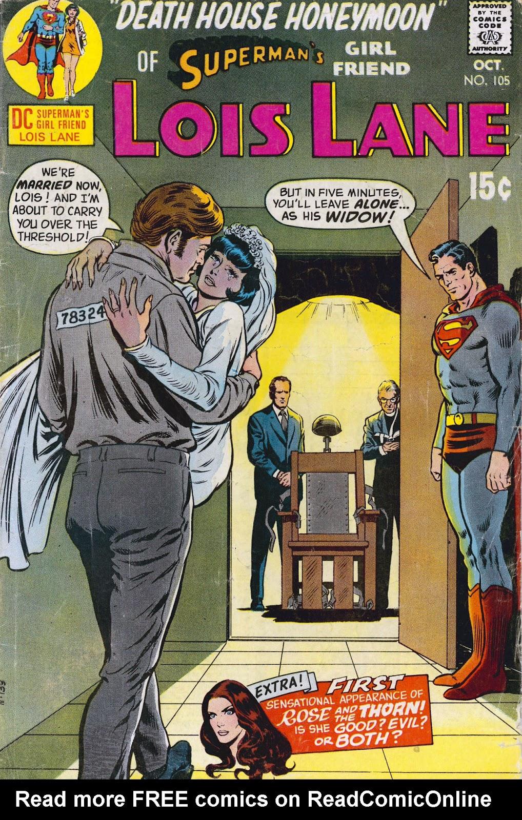 Supermans Girl Friend, Lois Lane 105 Page 1