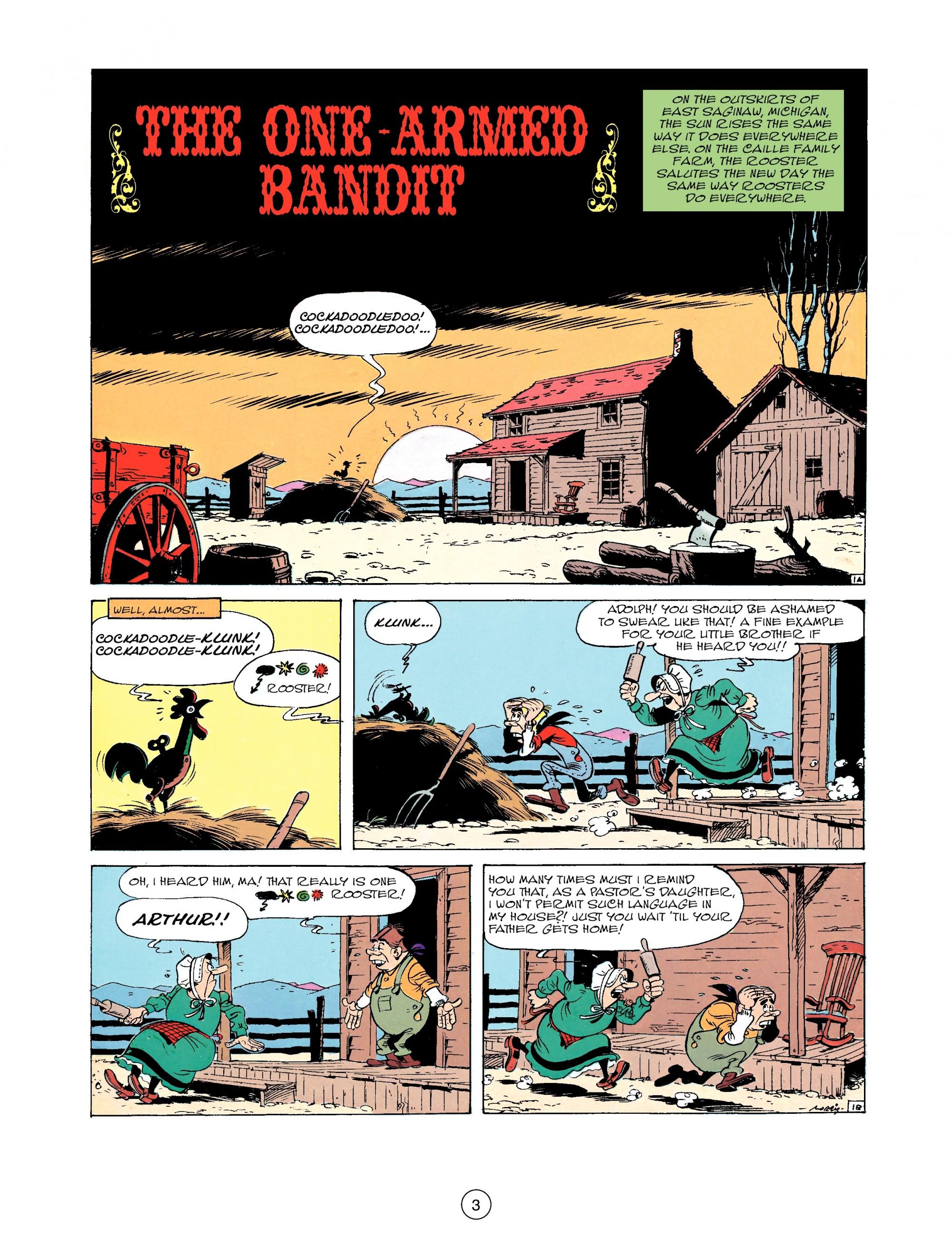 Read online A Lucky Luke Adventure comic -  Issue #33 - 3