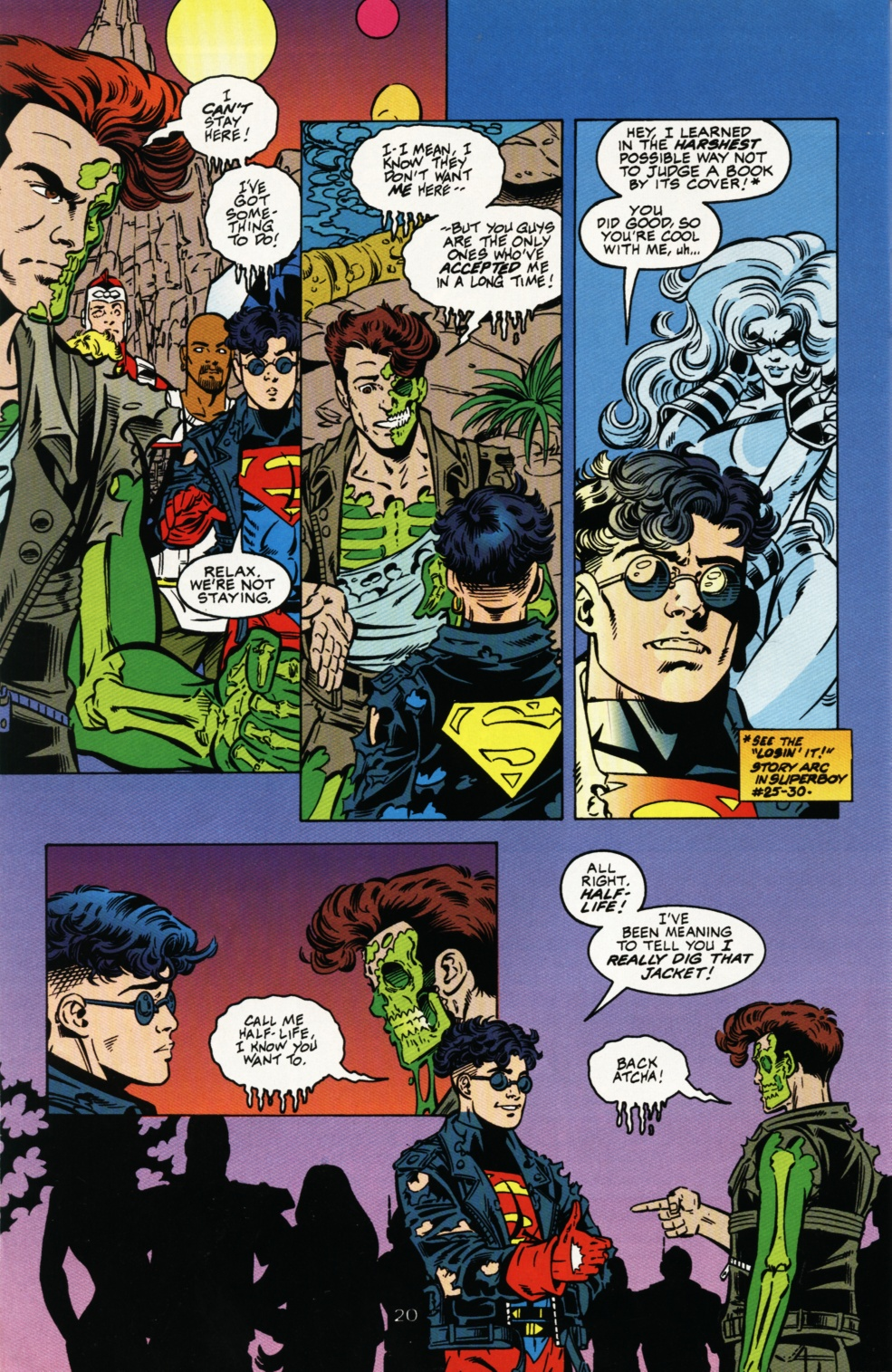 Read online Superboy & The Ravers comic -  Issue #4 - 21