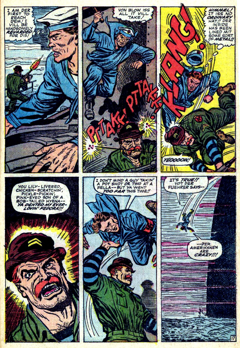 Read online Sgt. Fury comic -  Issue #26 - 25