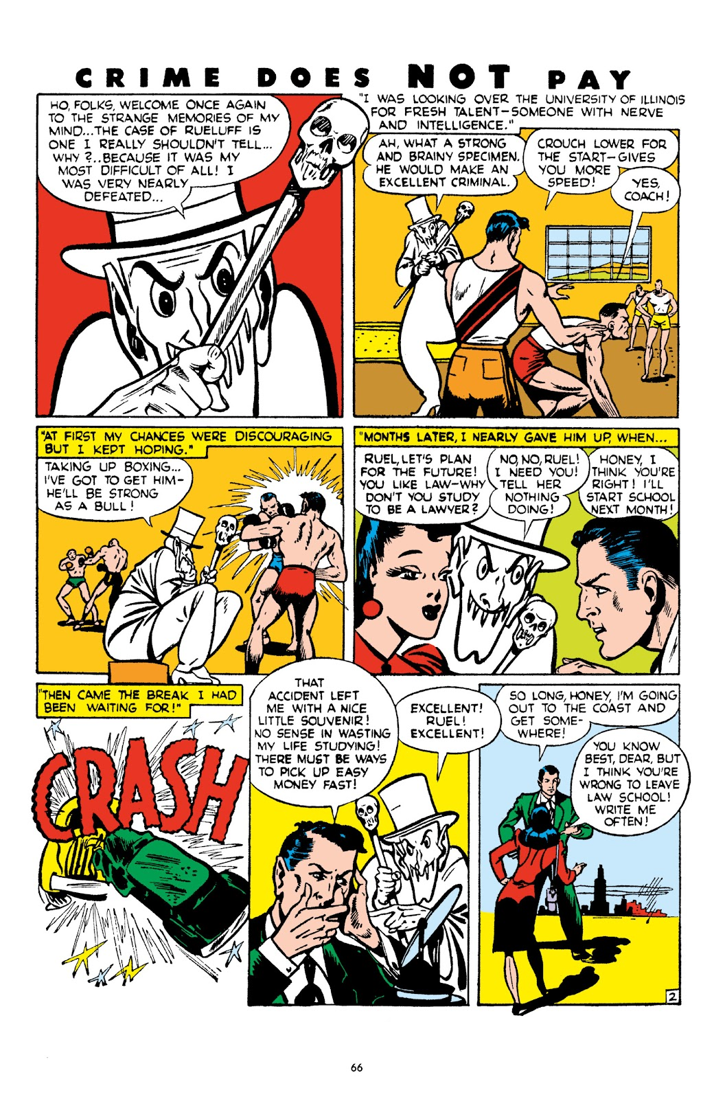 Read online Crime Does Not Pay Archives comic -  Issue # TPB 4 (Part 1) - 66
