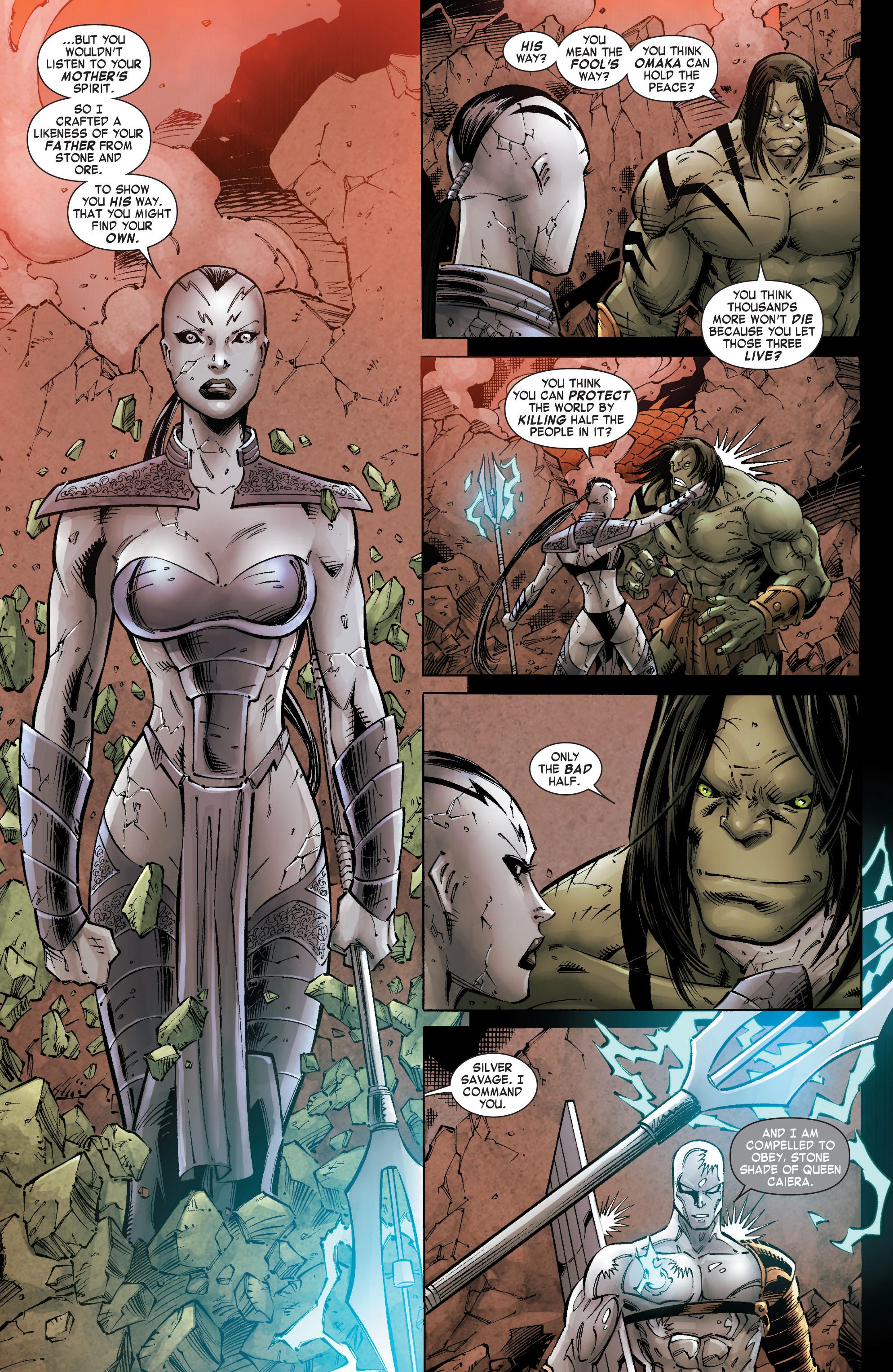 Read online Skaar: Son of Hulk comic -  Issue #9 - 21