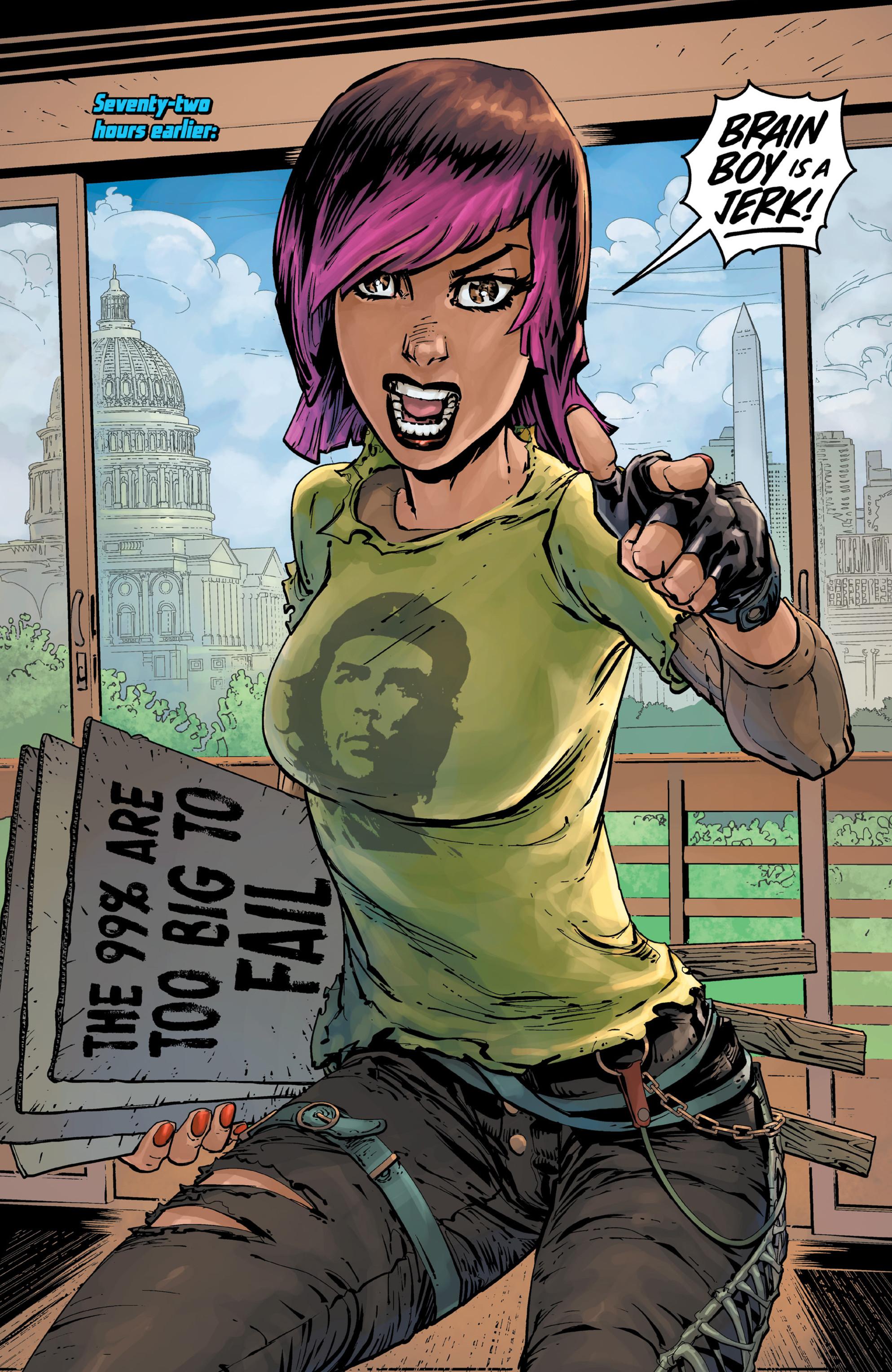 Read online Brain Boy:  The Men from G.E.S.T.A.L.T. comic -  Issue # TPB - 18