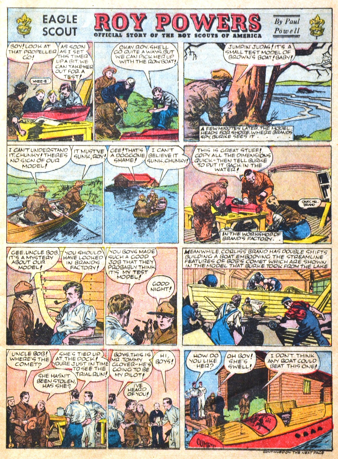 Read online Famous Funnies comic -  Issue #51 - 7