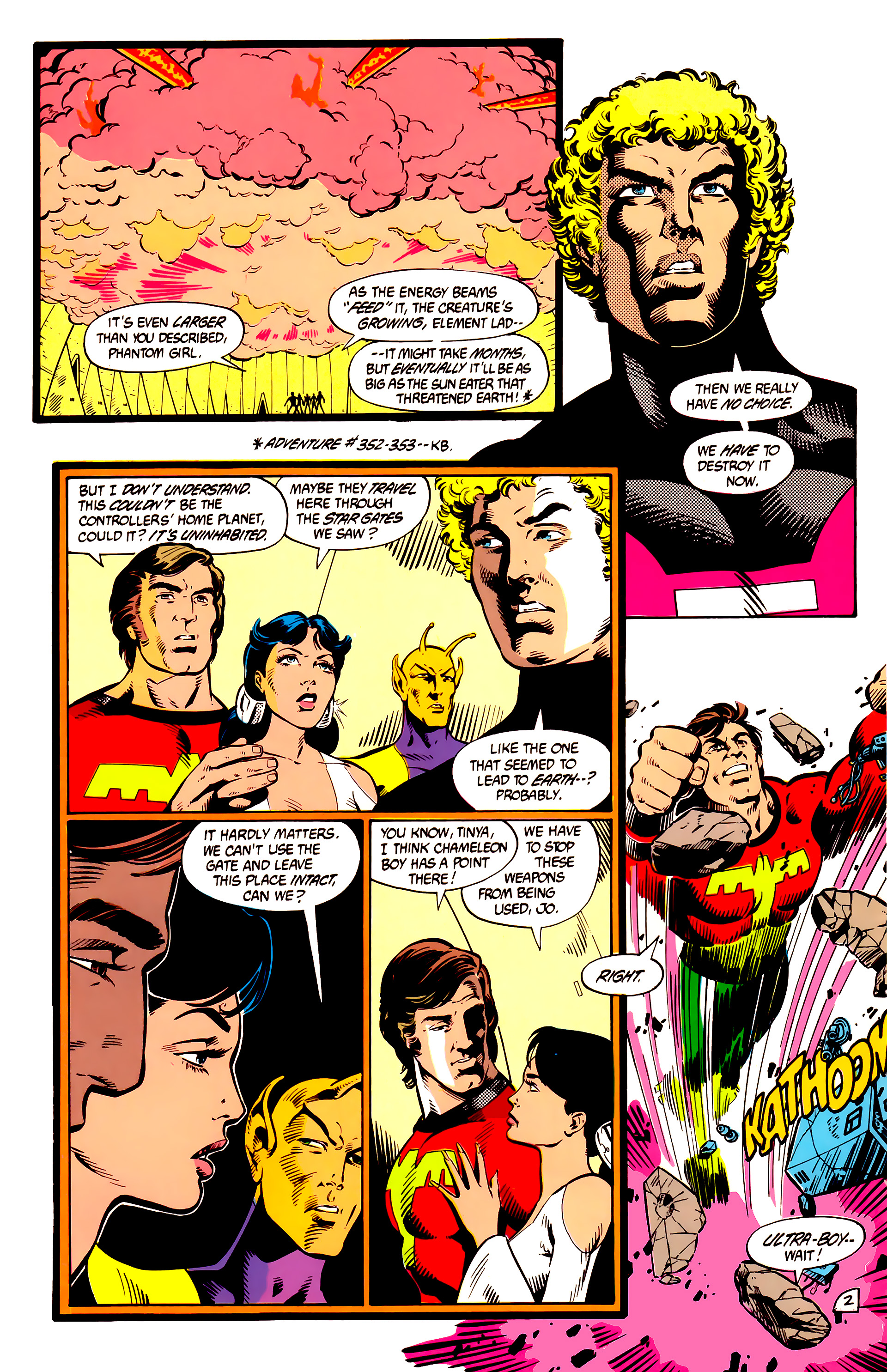 Legion of Super-Heroes (1984) 8 Page 3
