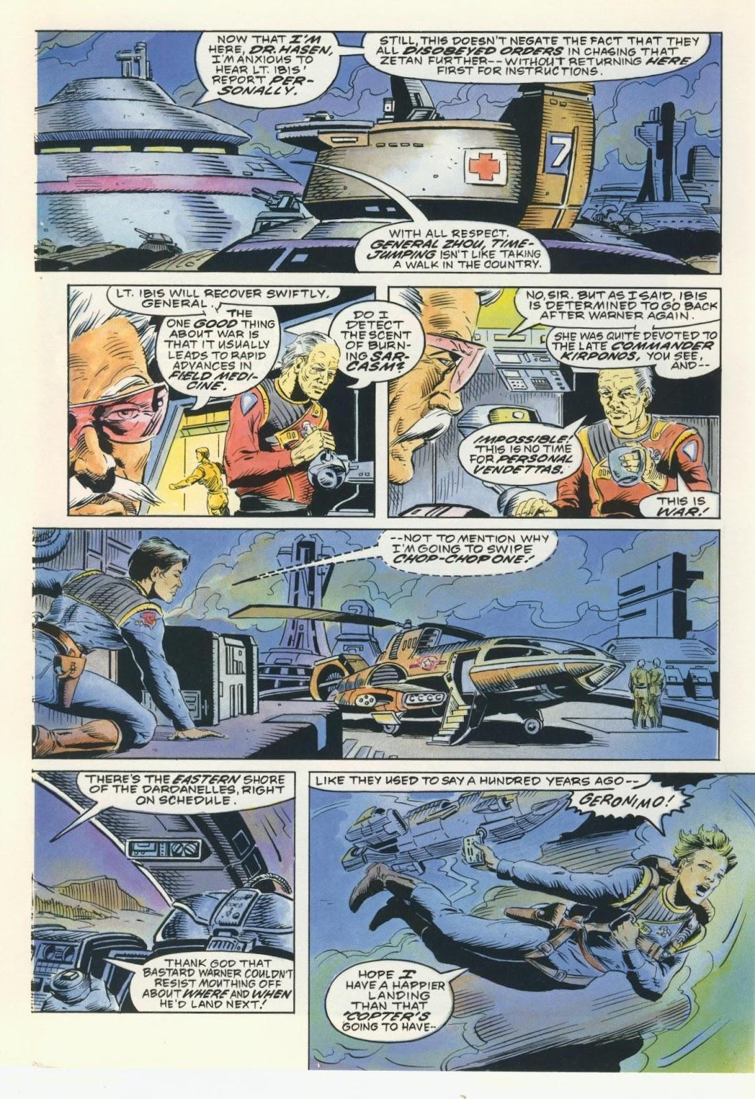 Warhawks issue 4 - Page 5