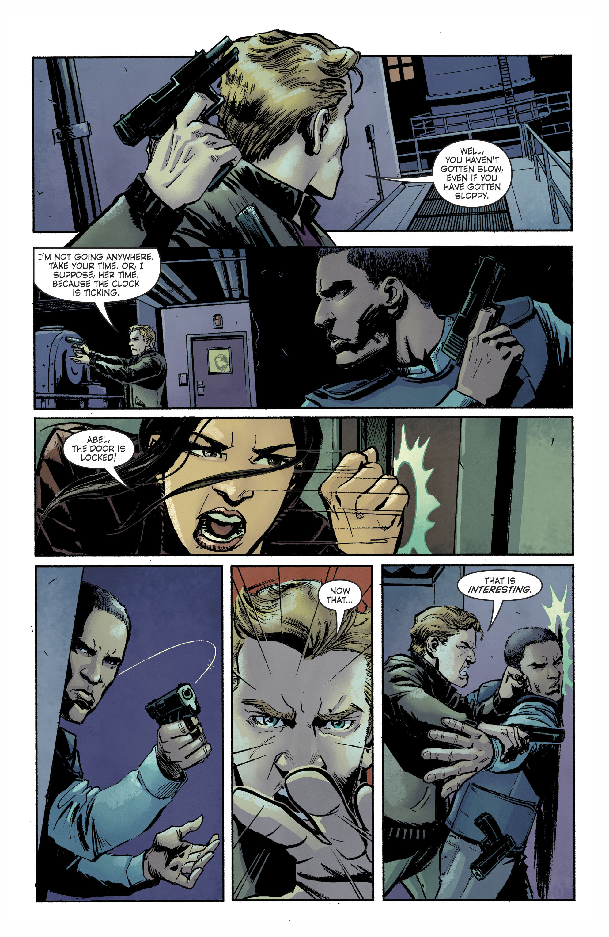 Read online Savage Things comic -  Issue #3 - 18