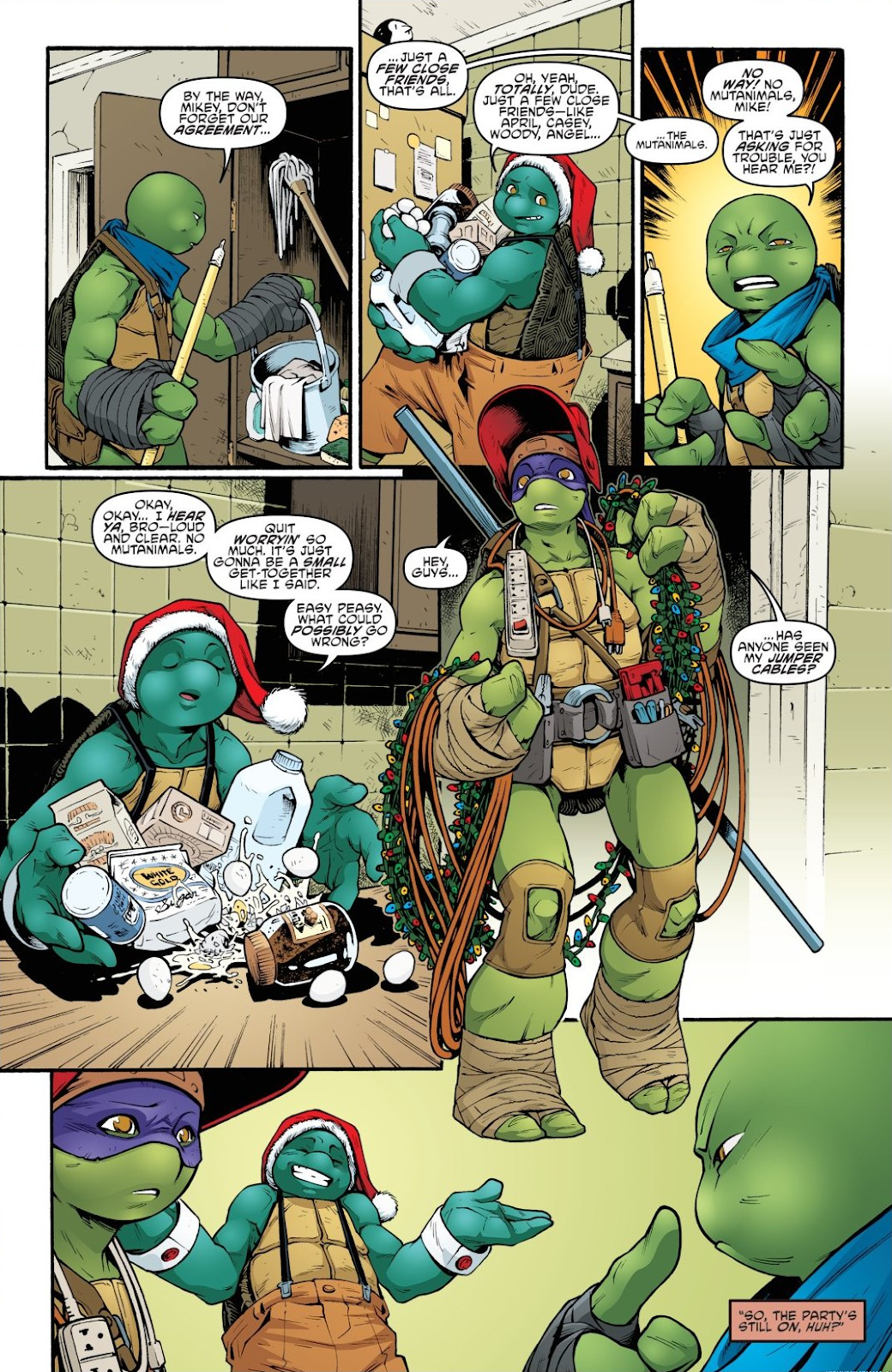 Read online Teenage Mutant Ninja Turtles: The IDW Collection comic -  Issue # TPB 8 (Part 3) - 29
