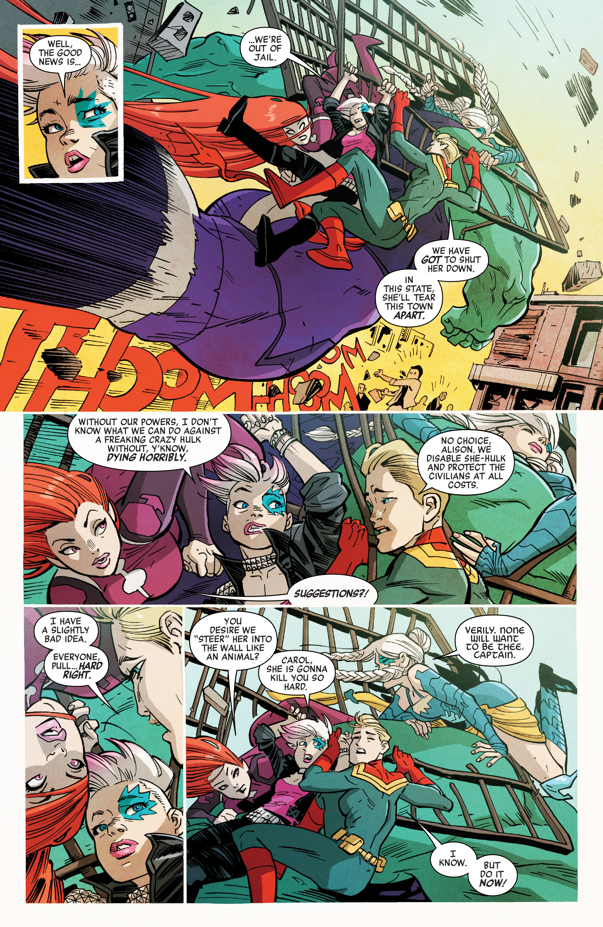 Read online A-Force (2016) comic -  Issue #6 - 14