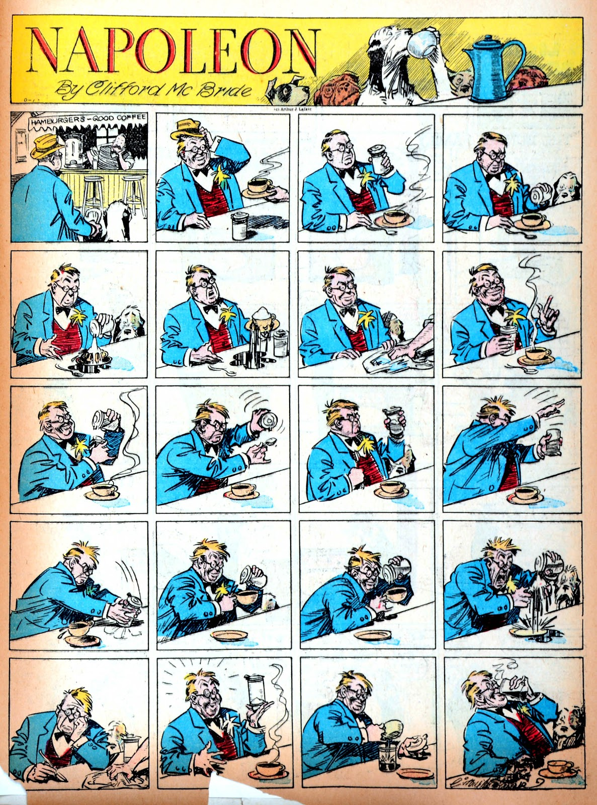 Read online Famous Funnies comic -  Issue #11 - 64