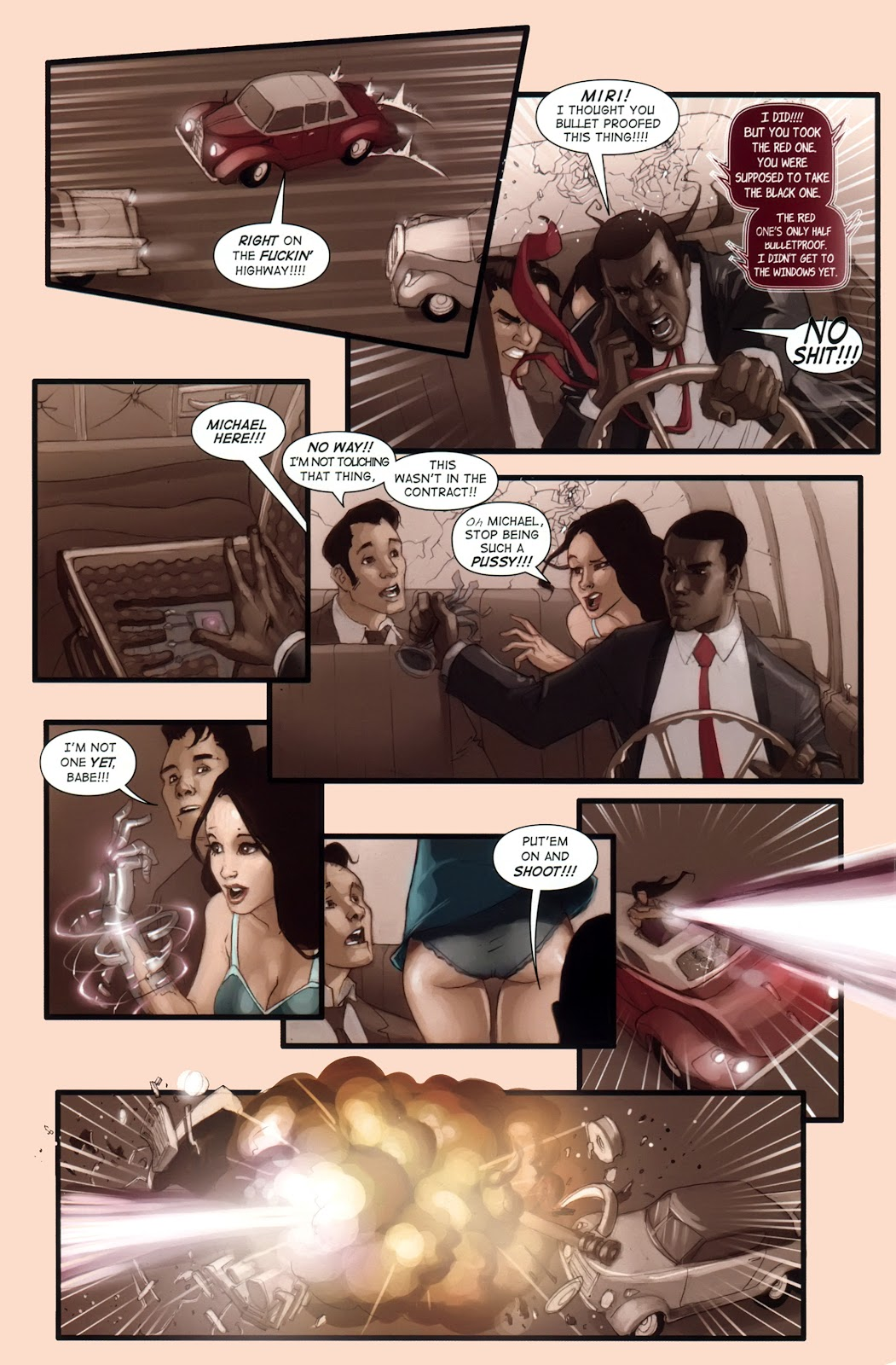 Read online Vescell comic -  Issue #1 - 10