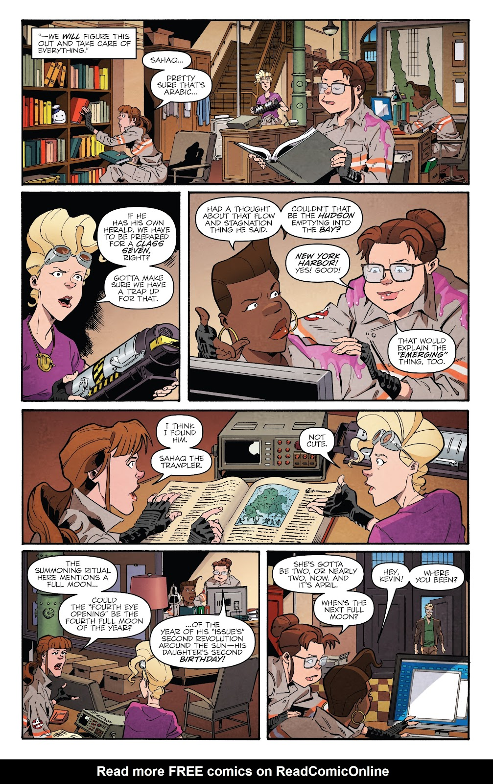 Read online Answer the Call Ghostbusters 35th Anniversary comic -  Issue # Full - 16