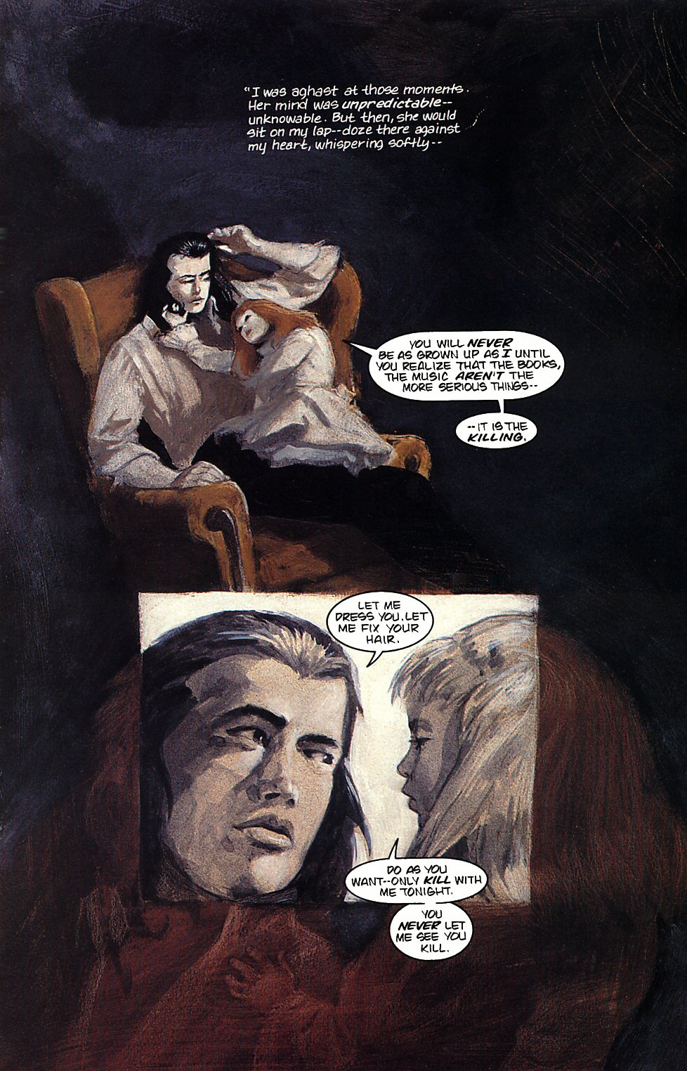 Read online Anne Rice's Interview with the Vampire comic -  Issue #4 - 12