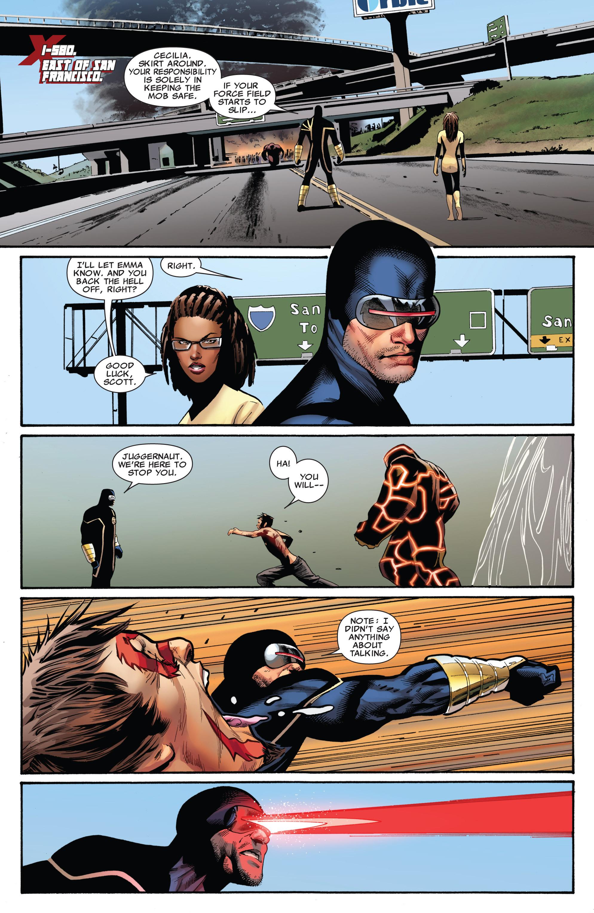 Read online Uncanny X-Men (1963) comic -  Issue #541 - 8