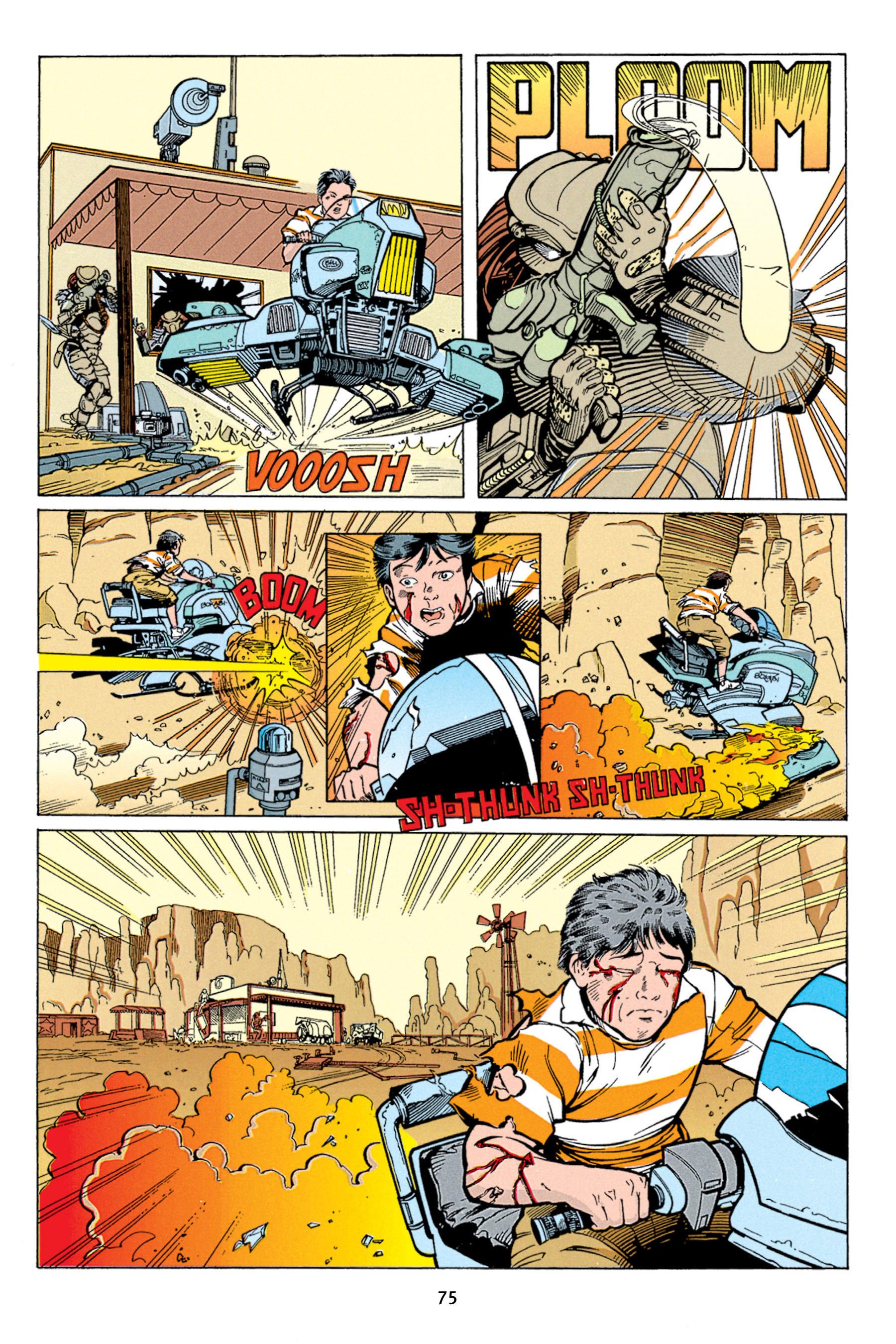 Read online Aliens vs. Predator Omnibus comic -  Issue # _TPB 1 Part 1 - 75