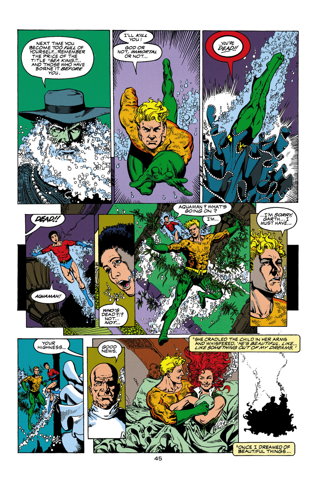 Read online Aquaman (1994) comic -  Issue #Aquaman (1994) _Annual 1 - 46