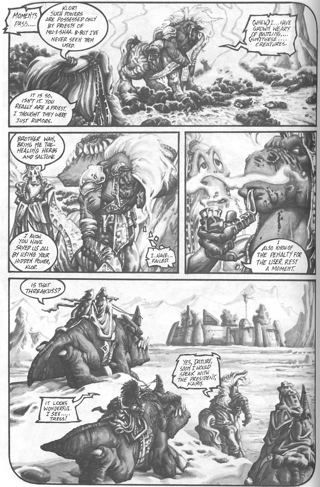 Read online Animal Mystic comic -  Issue #4 - 23
