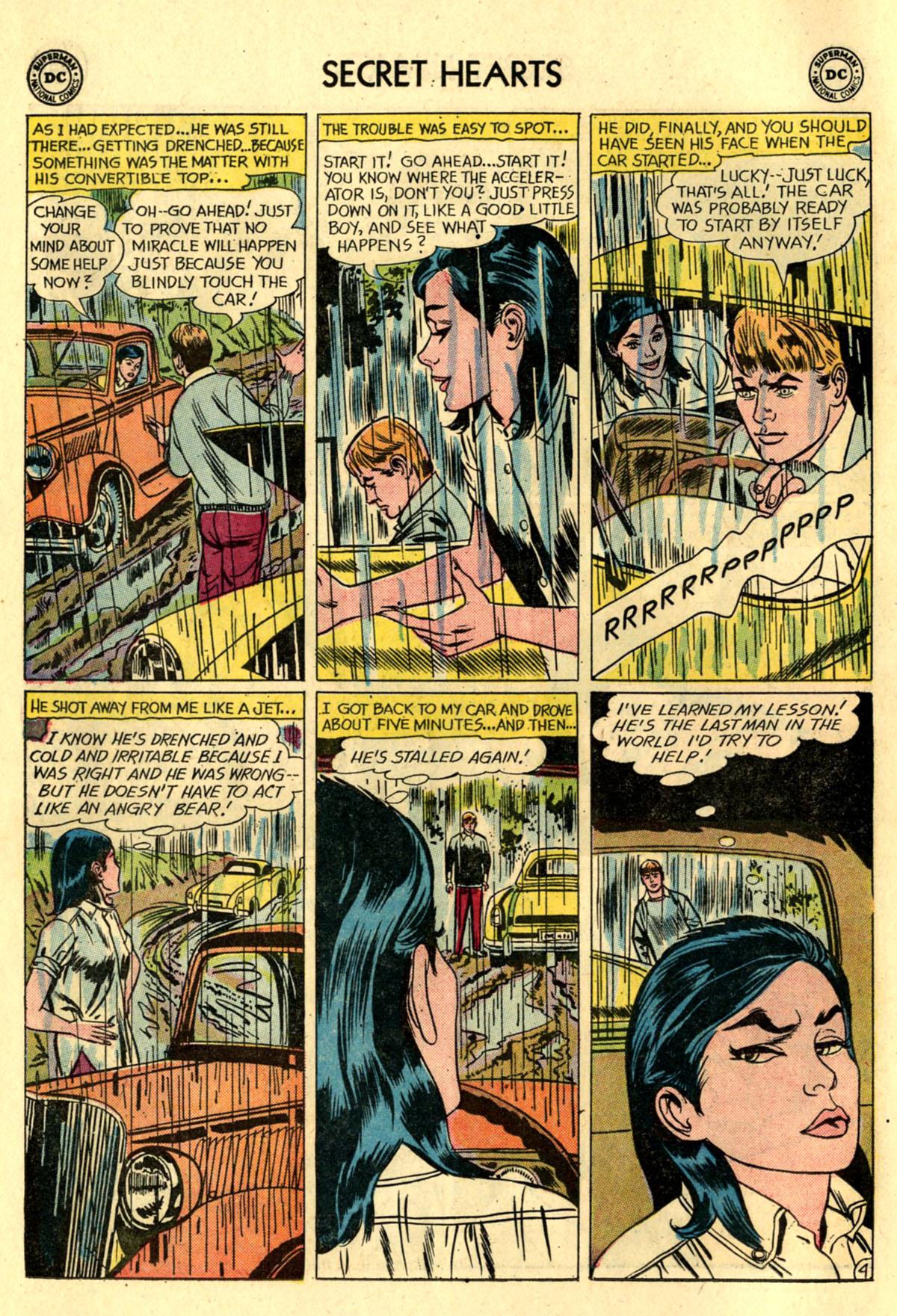 Read online Secret Hearts comic -  Issue #83 - 6