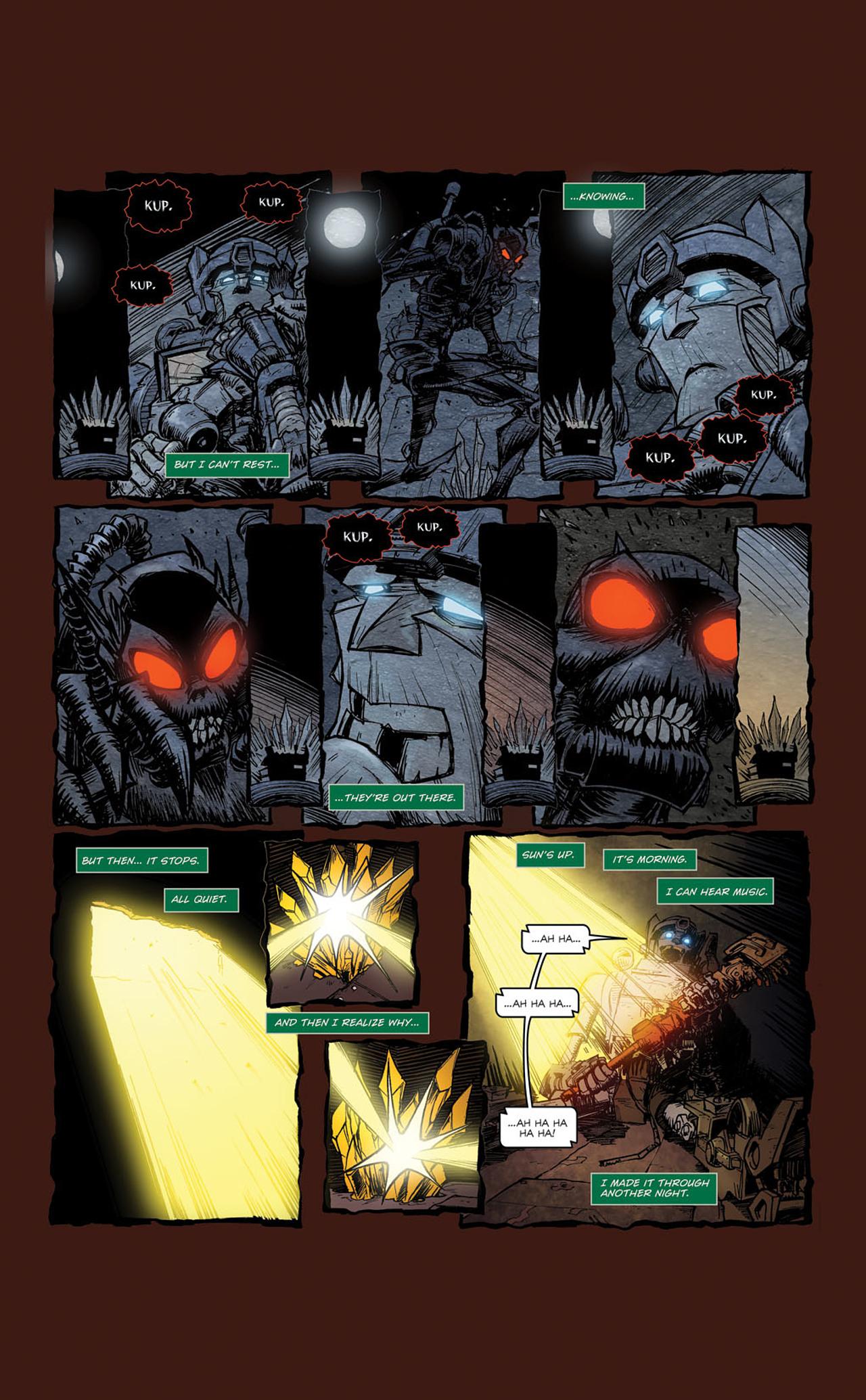Read online Transformers Spotlight: Kup comic -  Issue # Full - 14