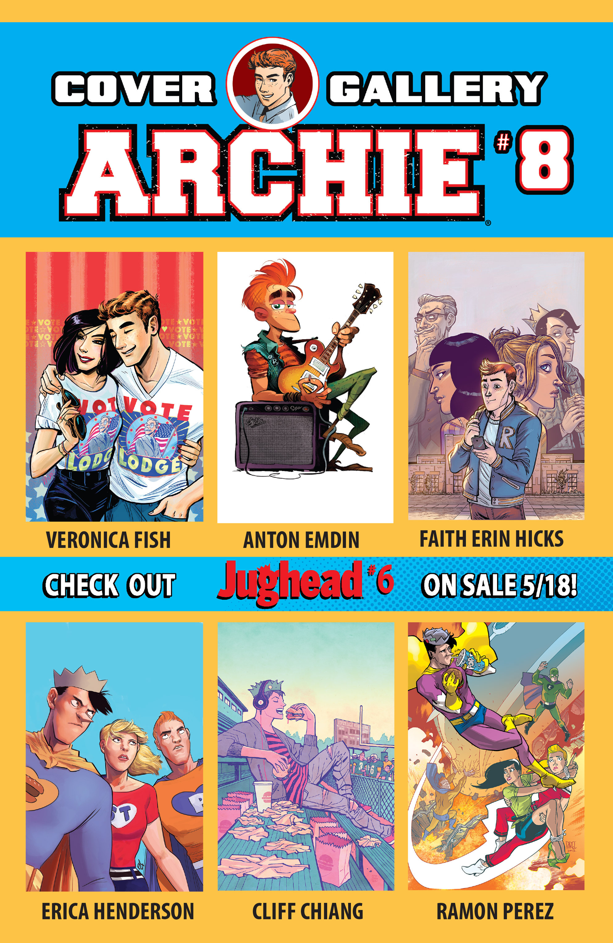 Read online Archie (2015) comic -  Issue #8 - 32
