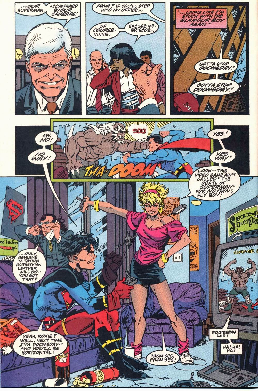 Read online Adventures of Superman (1987) comic -  Issue #503 - 7