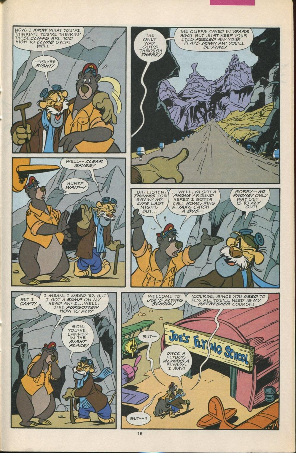 Read online Disney's Tale Spin comic -  Issue #5 - 17